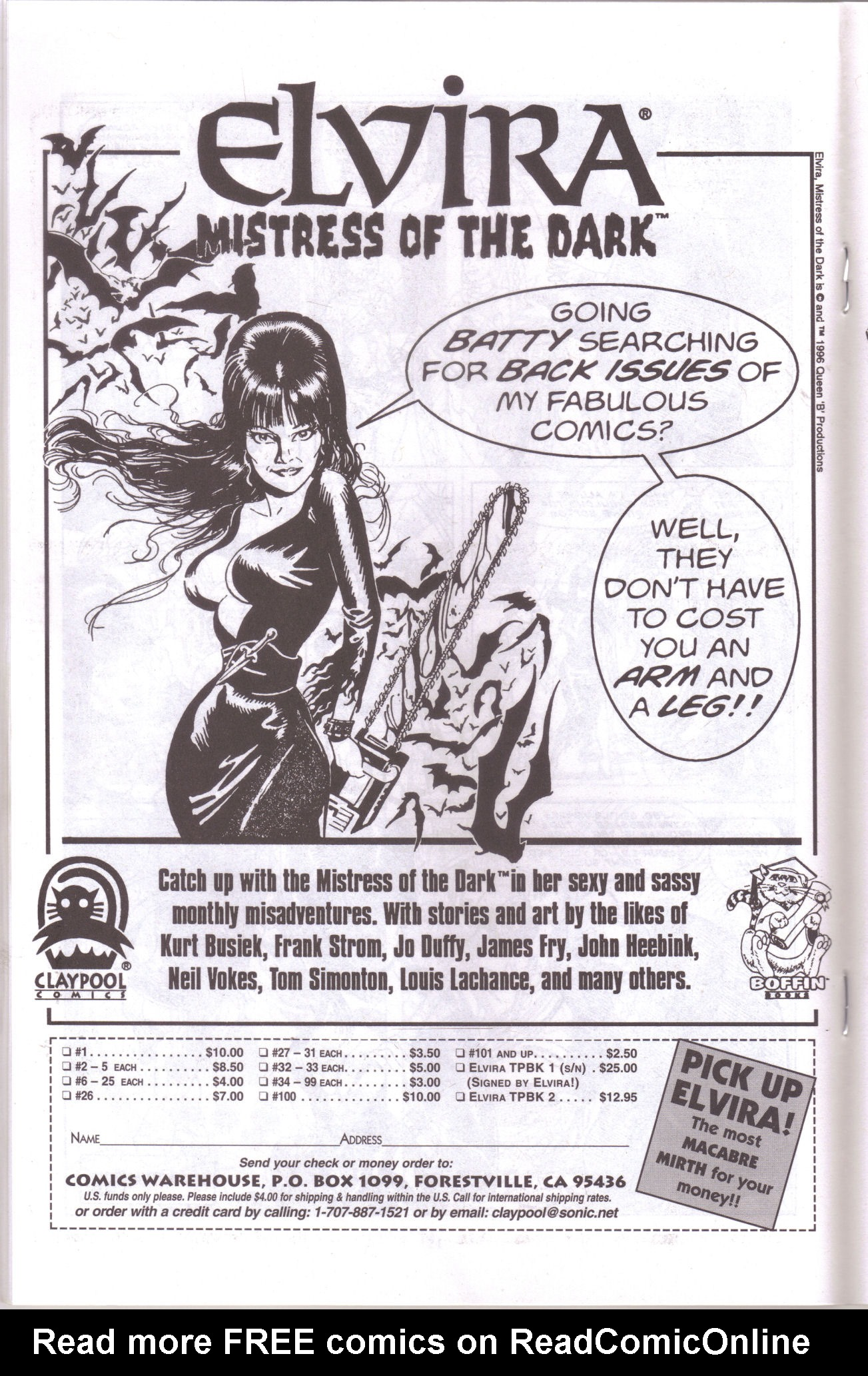 Read online Elvira, Mistress of the Dark comic -  Issue #159 - 18