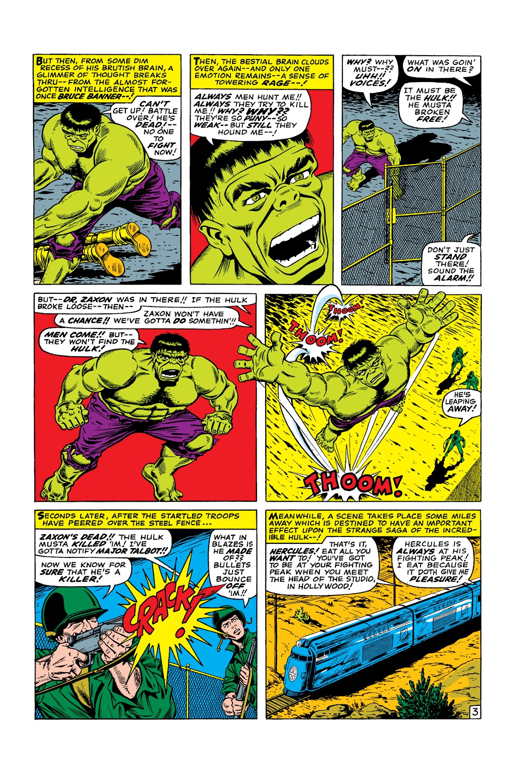 Read online Marvel Masterworks: The Incredible Hulk comic -  Issue # TPB 2 (Part 3) - 36