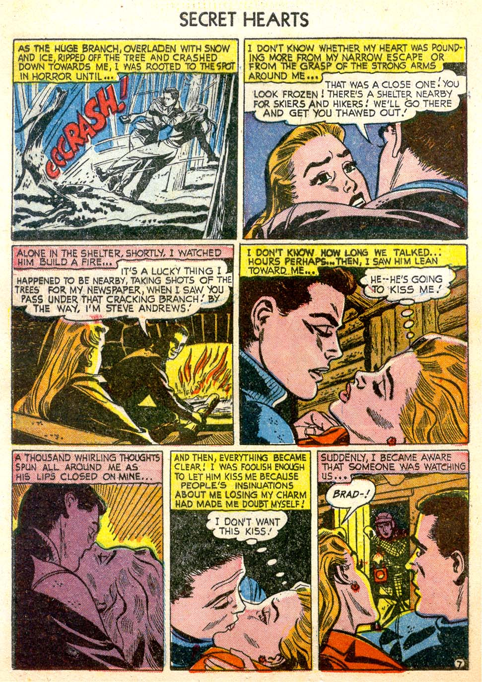 Read online Secret Hearts comic -  Issue #26 - 32