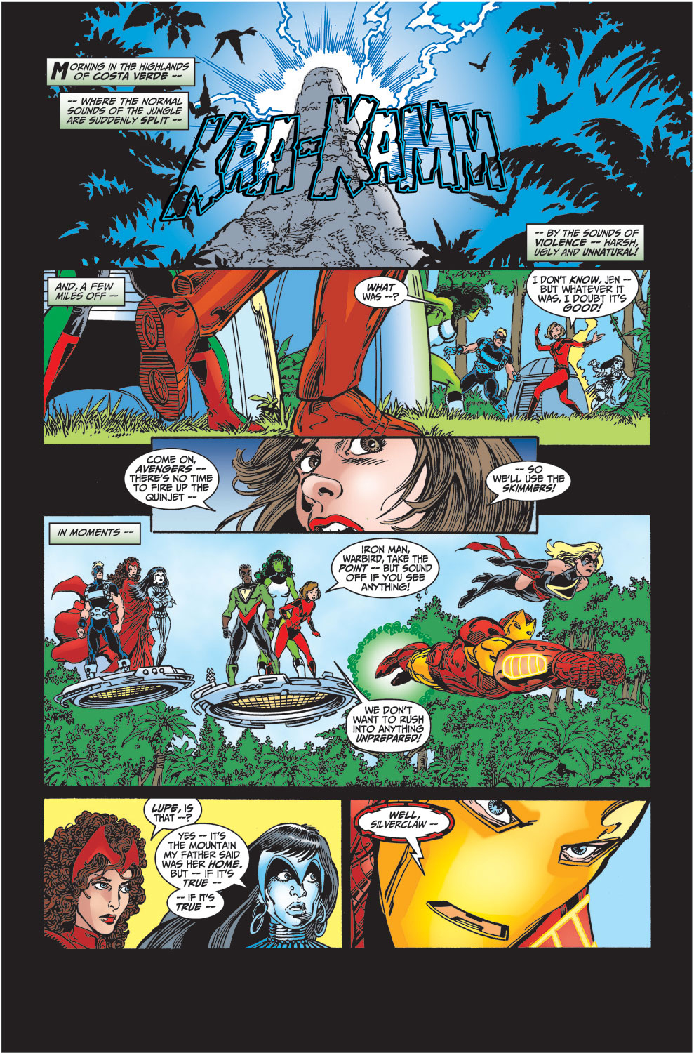 Read online Avengers (1998) comic -  Issue #29 - 2