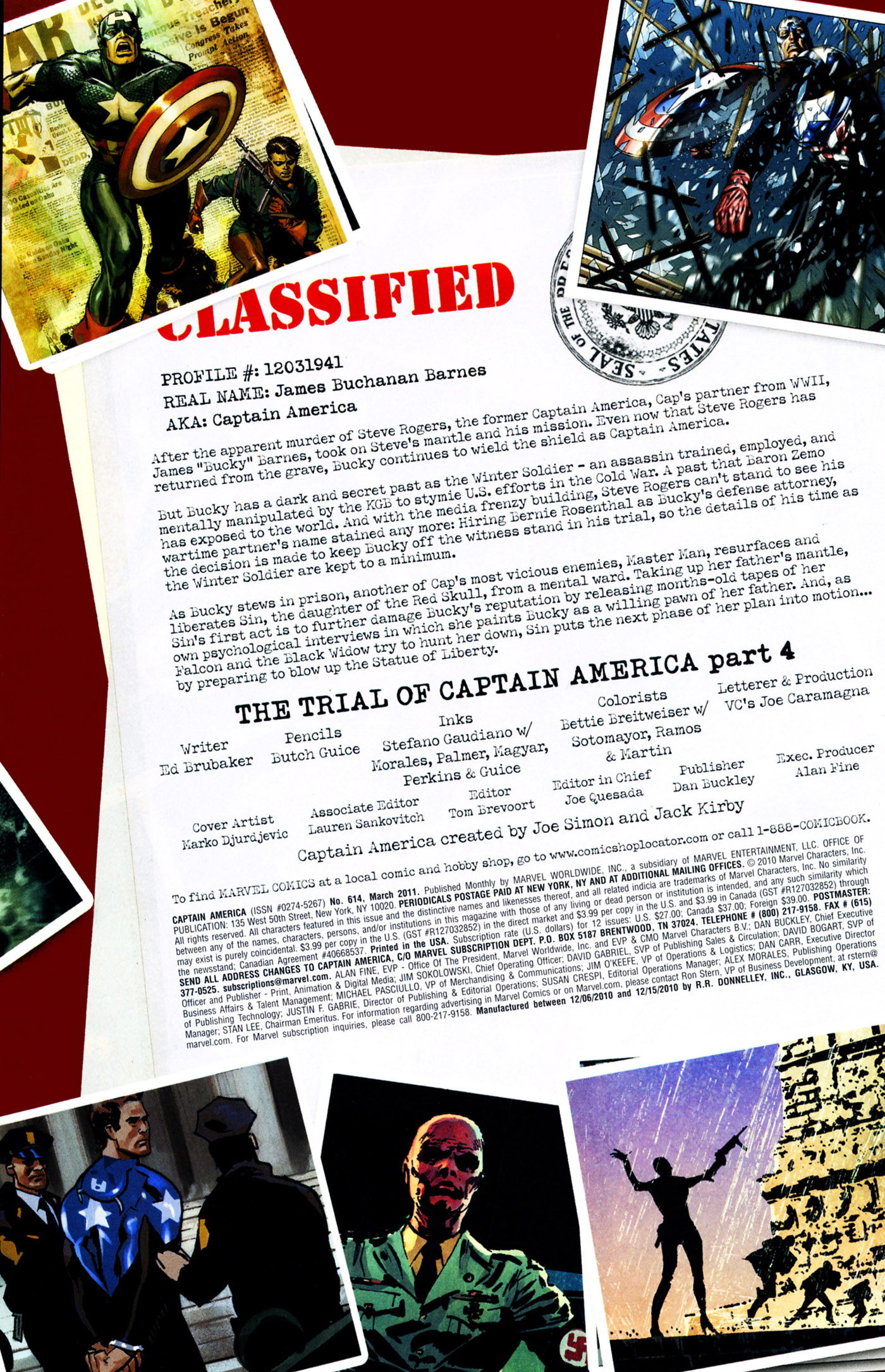 Captain America (1968) 614 Page 1
