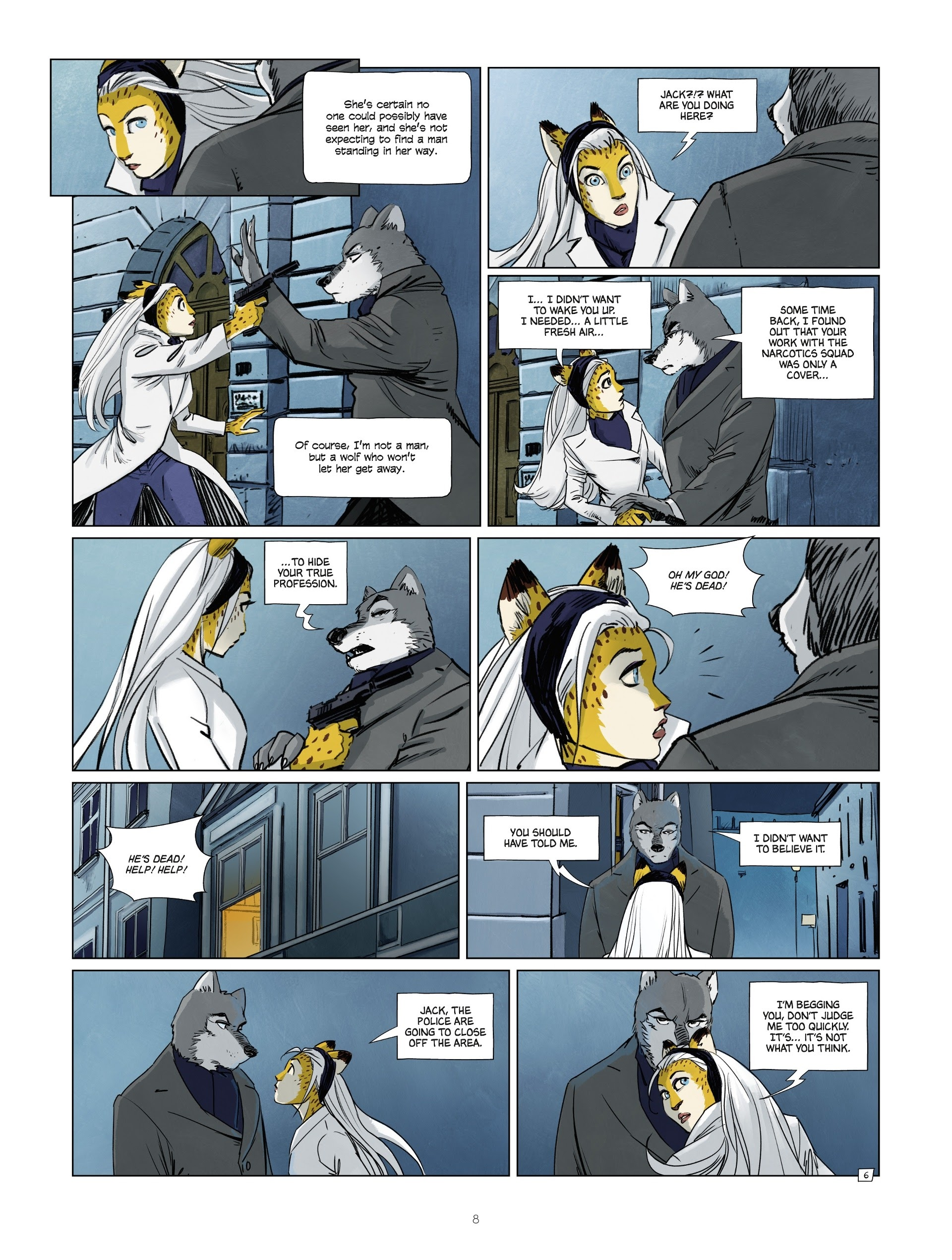 Read online Jack Wolfgang comic -  Issue #3 - 10