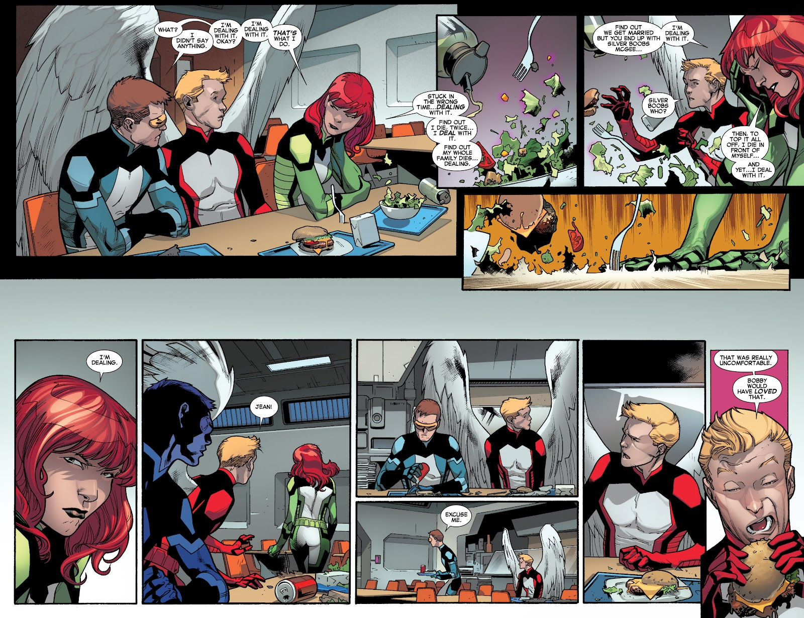 Guardians of the Galaxy/All-New X-Men: The Trial of Jean Grey issue TPB - Page 10