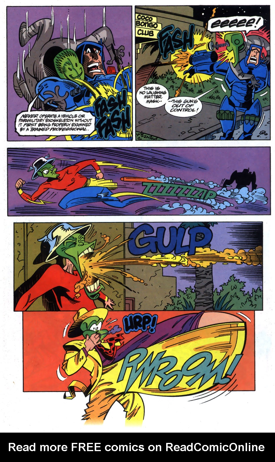 Read online Adventures Of The Mask comic -  Issue #6 - 23