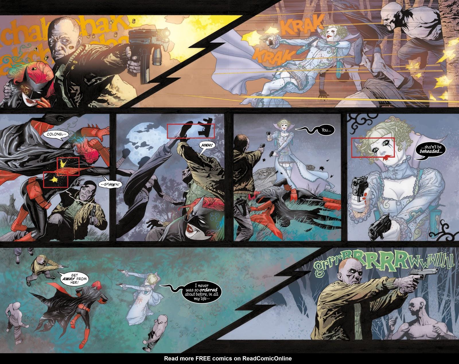 Read online Detective Comics (1937) comic -  Issue # _TPB Batwoman - Elegy (Part 1) - 43