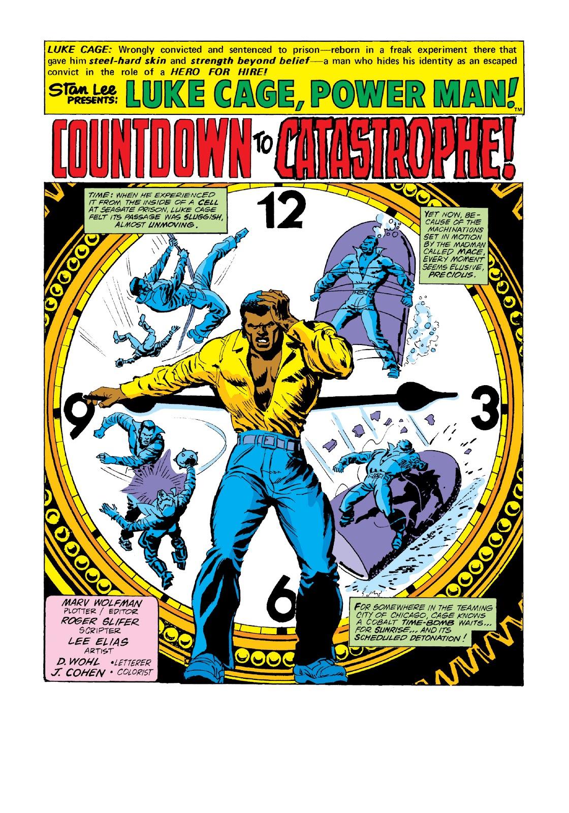 Read online Marvel Masterworks: Luke Cage, Power Man comic -  Issue # TPB 3 (Part 3) - 82
