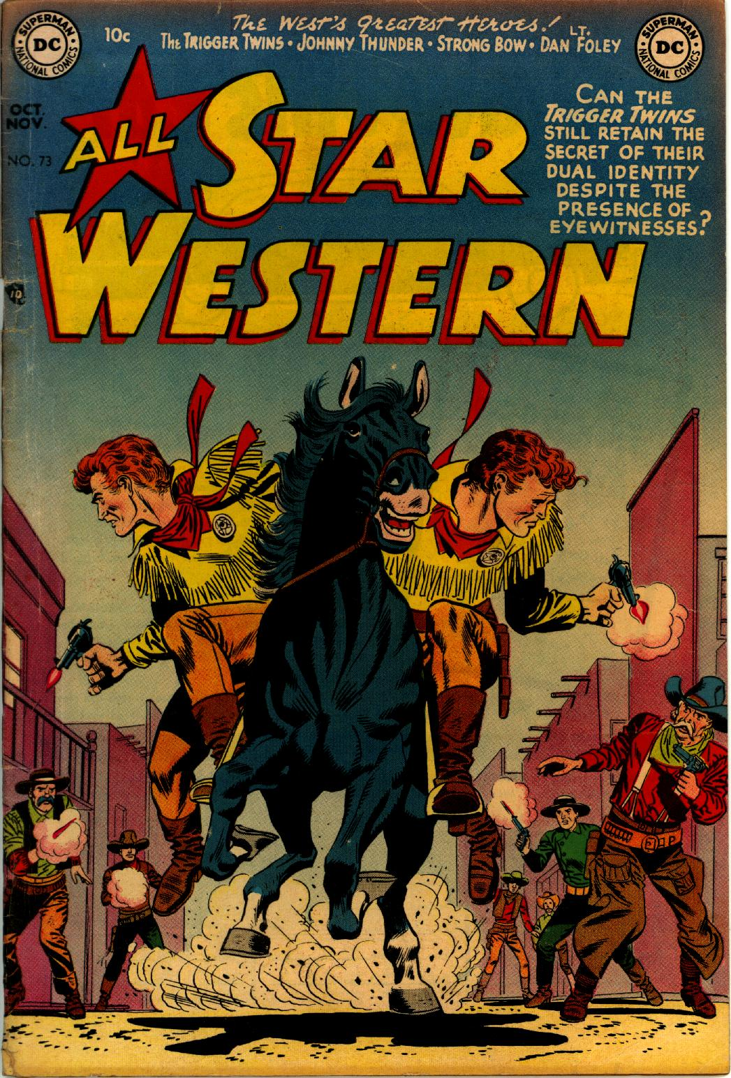 Read online All-Star Western (1951) comic -  Issue #73 - 1