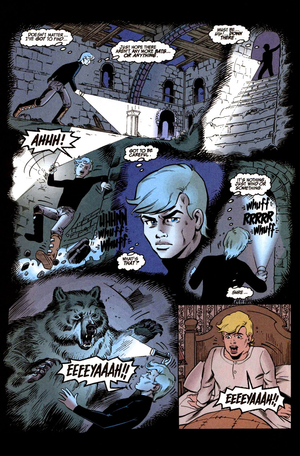 Read online The Real Adventures of Jonny Quest comic -  Issue #1 - 6