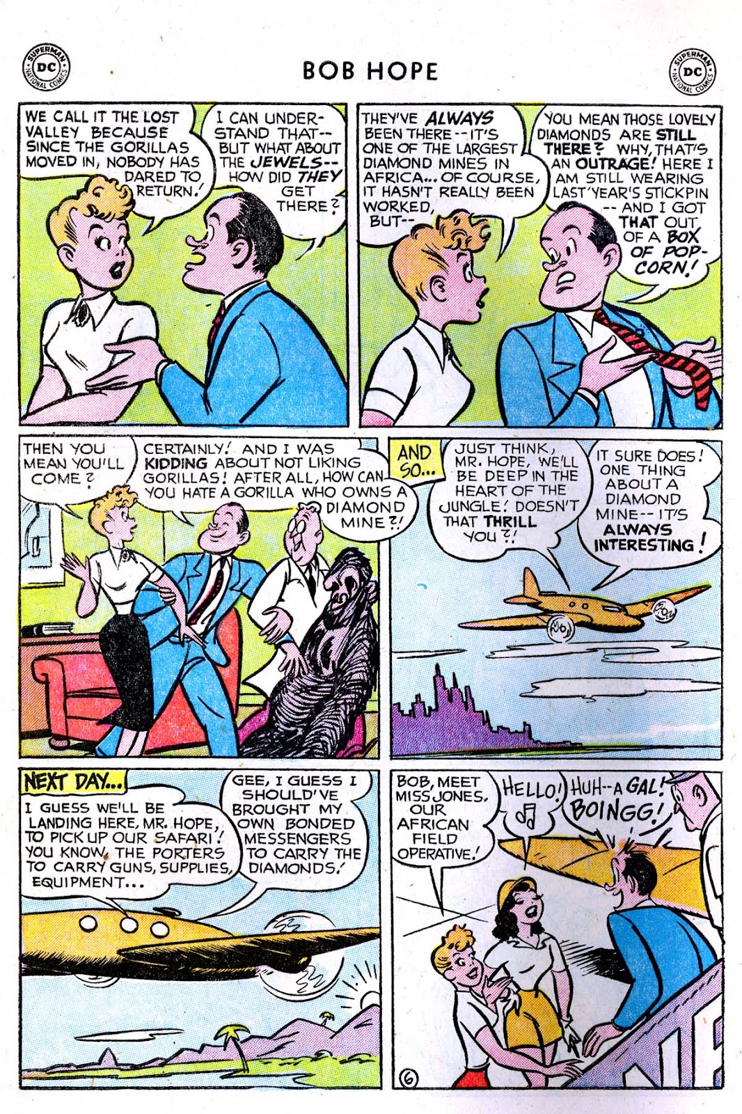 The Adventures of Bob Hope issue 33 - Page 8