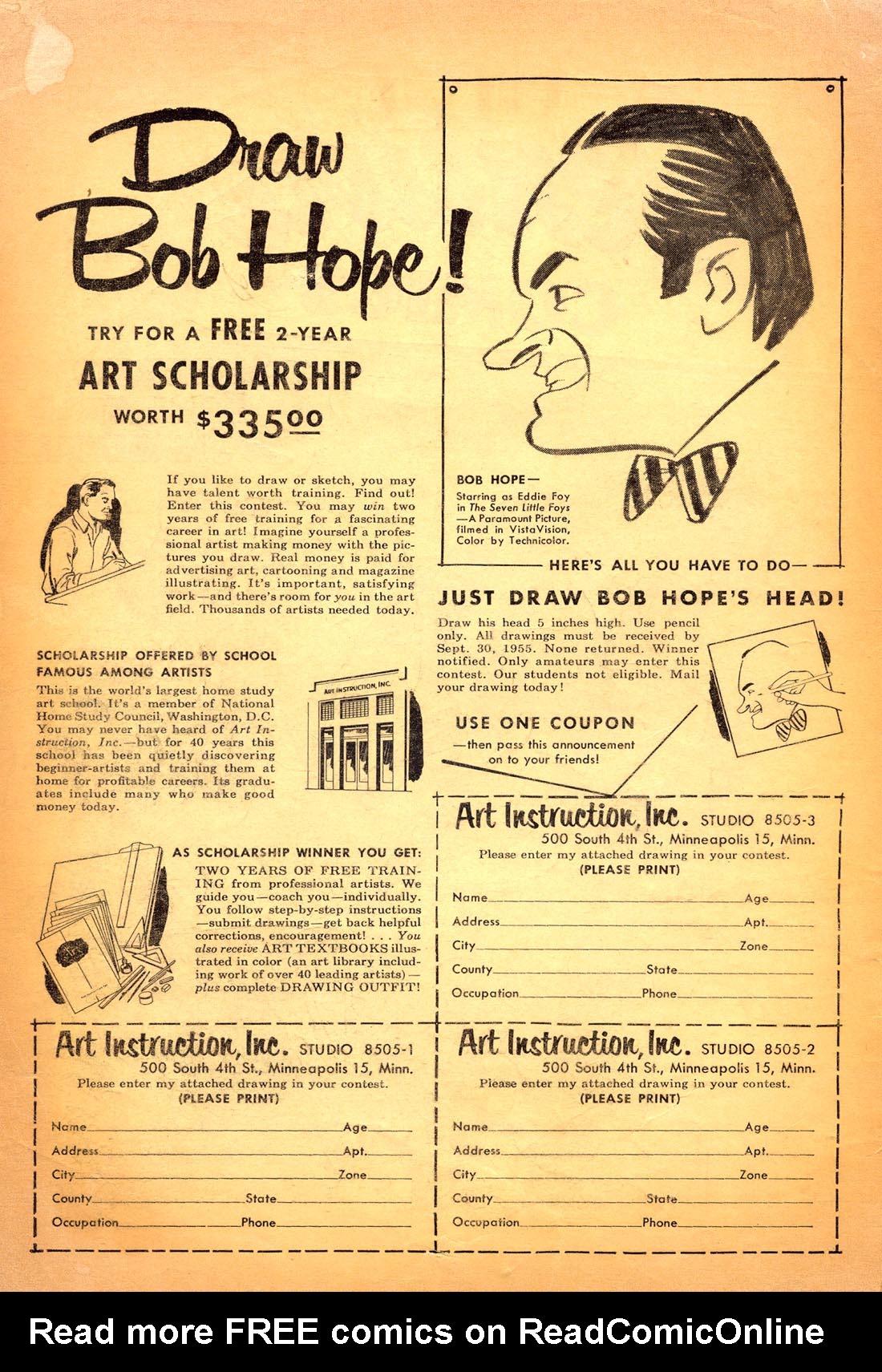 Read online Adventure Comics (1938) comic -  Issue #217 - 2