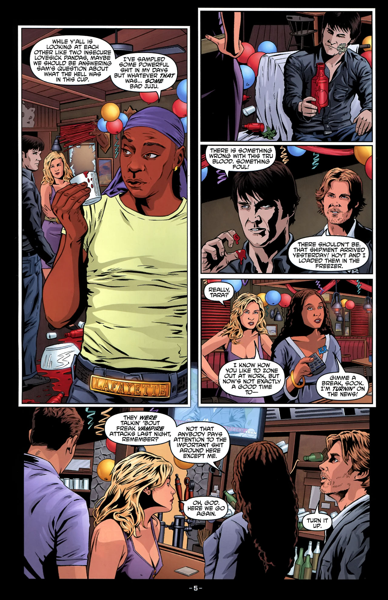 Read online True Blood: Tainted Love comic -  Issue #2 - 9