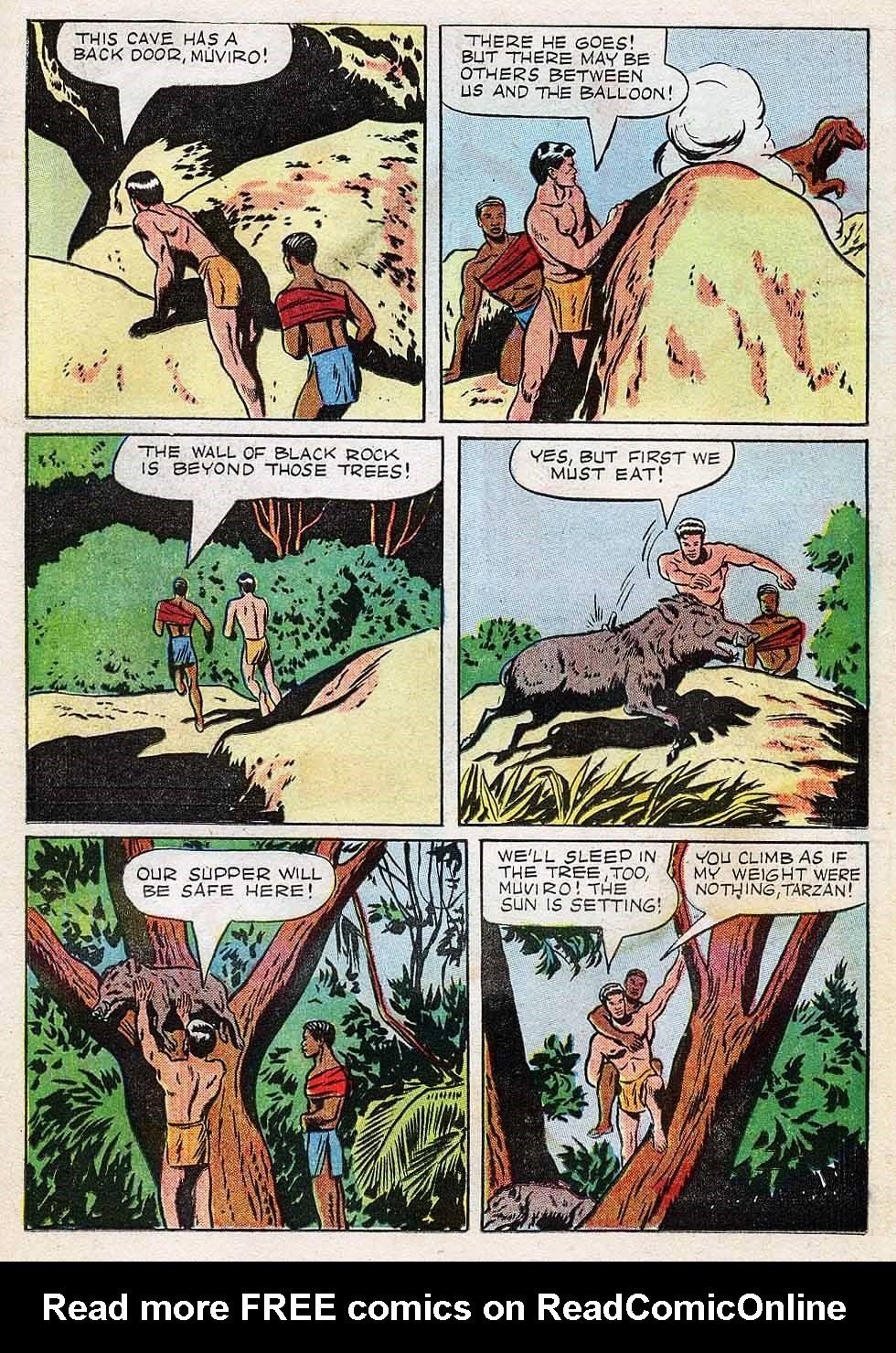 Tarzan (1948) issue 7 - Page 19