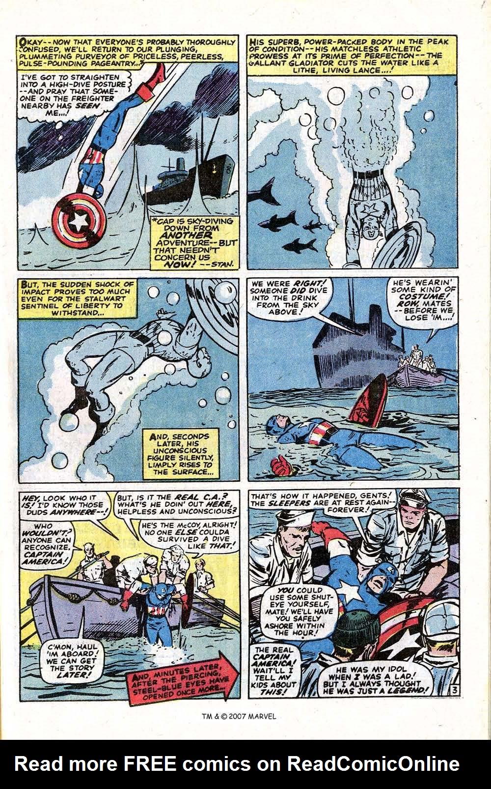 Read online Captain America (1968) comic -  Issue # _Annual 1 - 57
