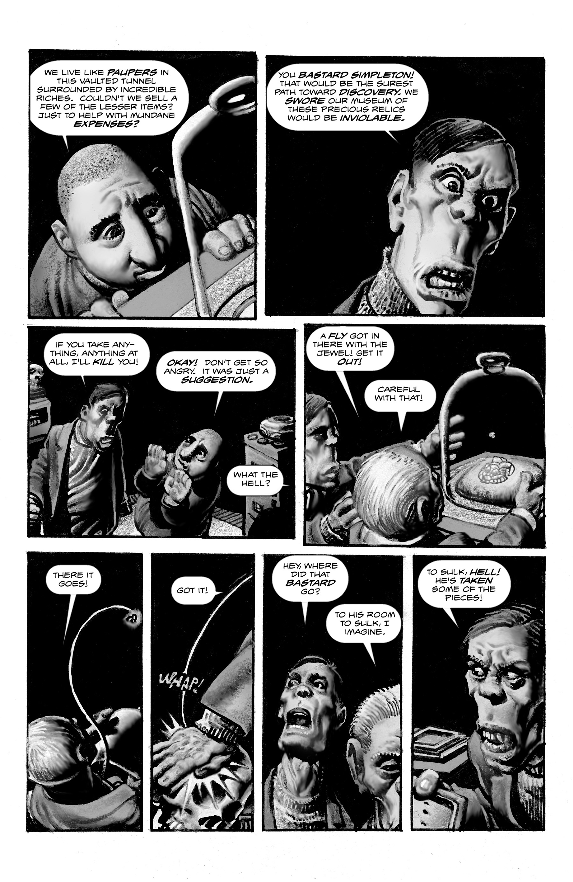 Read online Shadows on the Grave comic -  Issue #3 - 12