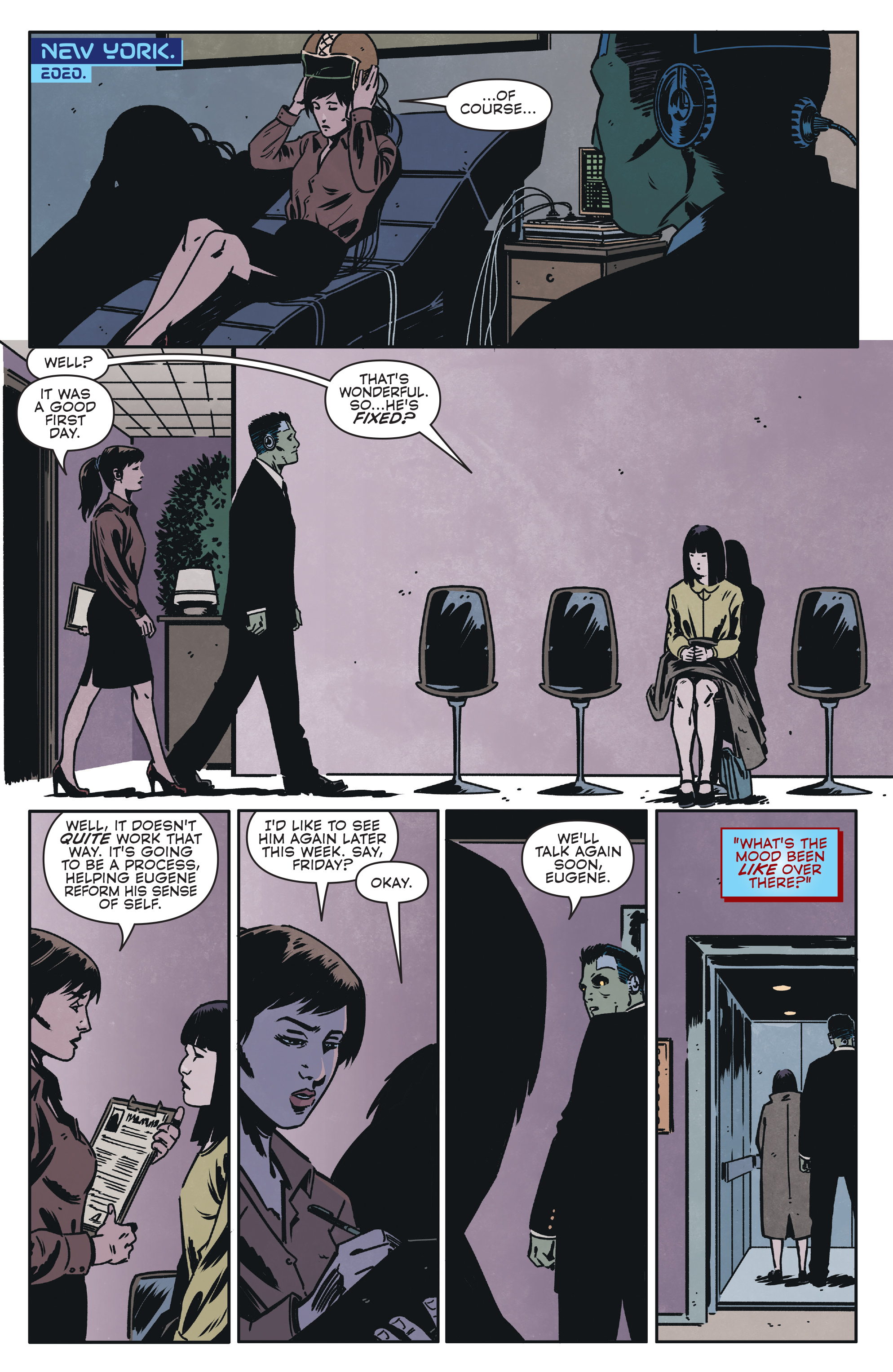 Read online Magnus comic -  Issue #1 - 12
