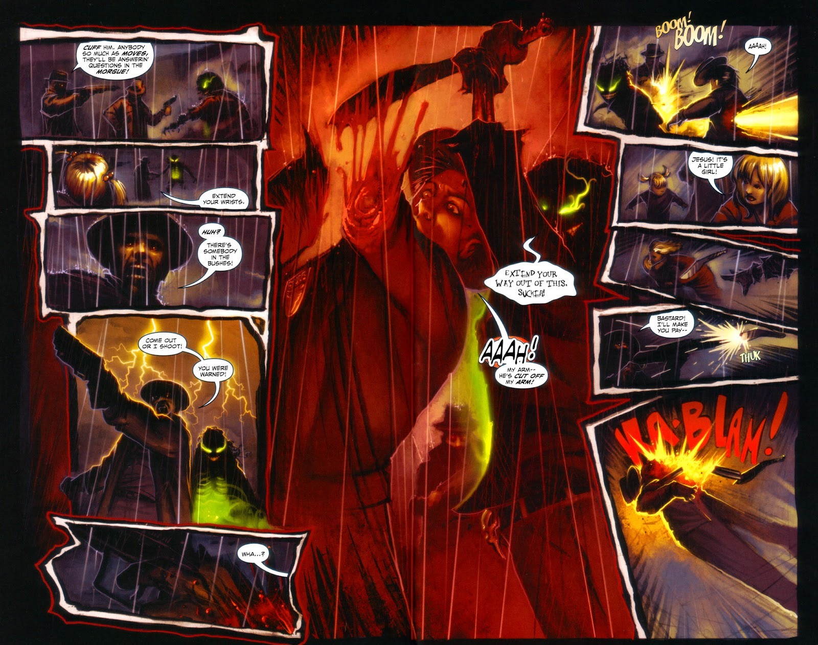 Read online Evil Ernie in Santa Fe comic -  Issue #3 - 4