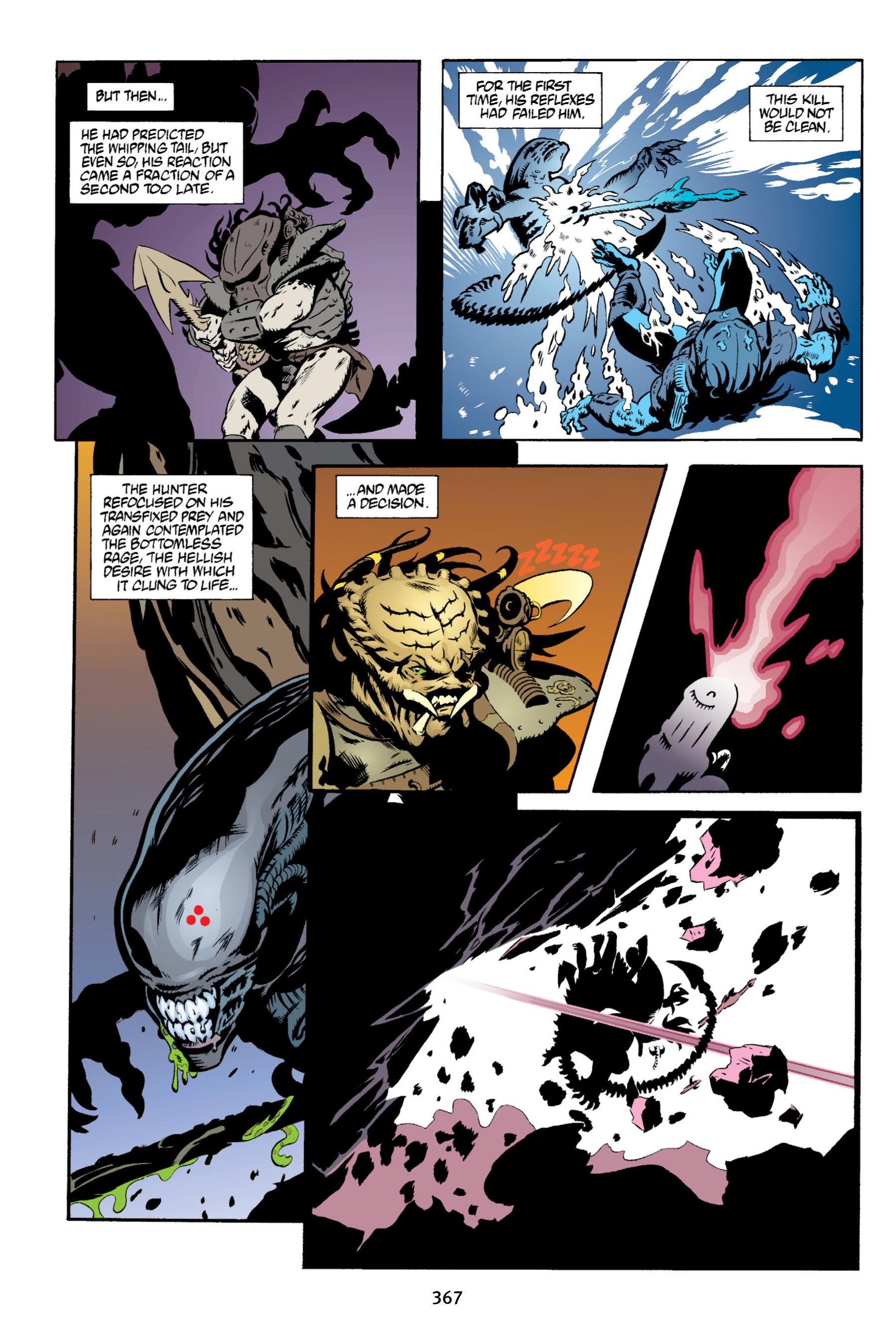 Read online Aliens vs. Predator Omnibus comic -  Issue # _TPB 2 Part 4 - 32