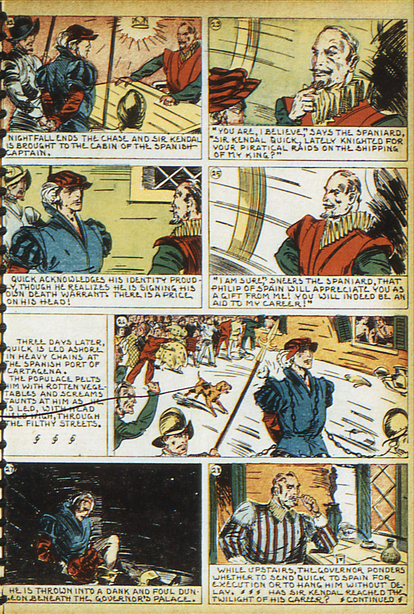 Read online Adventure Comics (1938) comic -  Issue #16 - 16