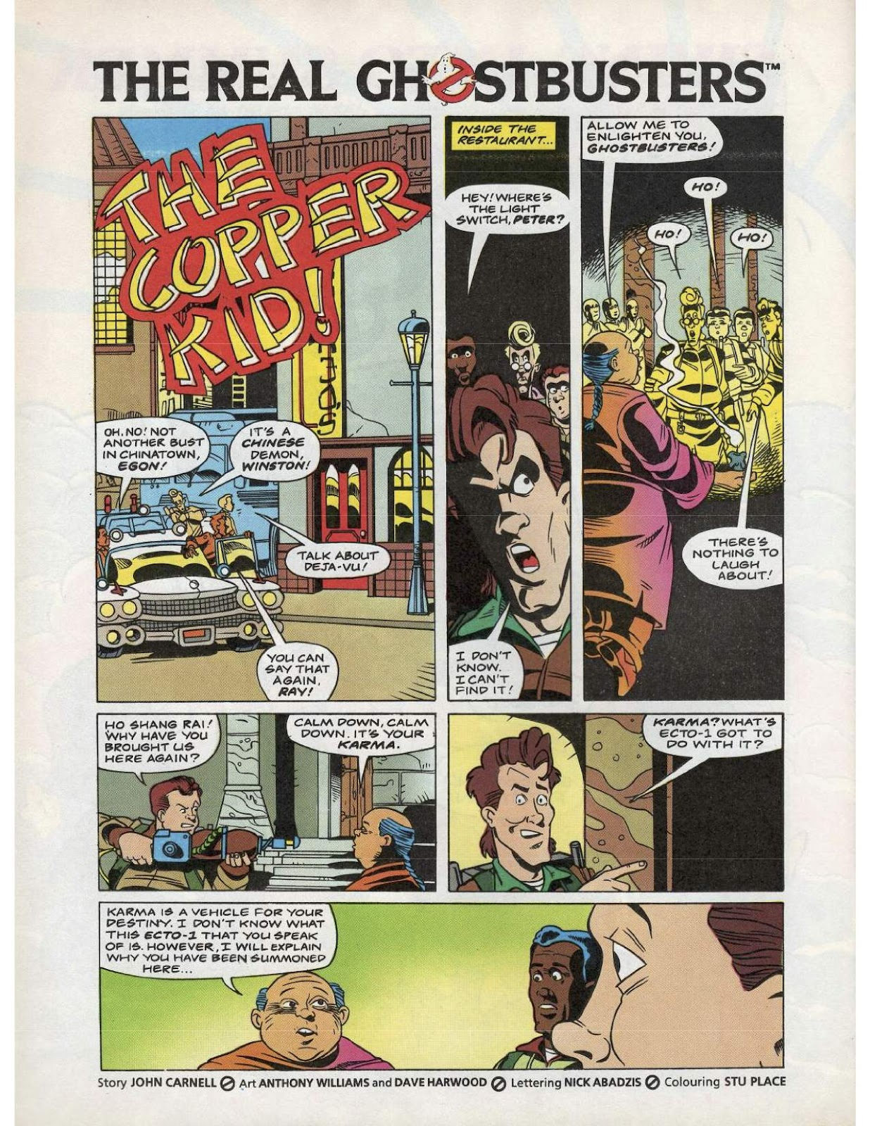The Real Ghostbusters Issue #193 #167 - English 21