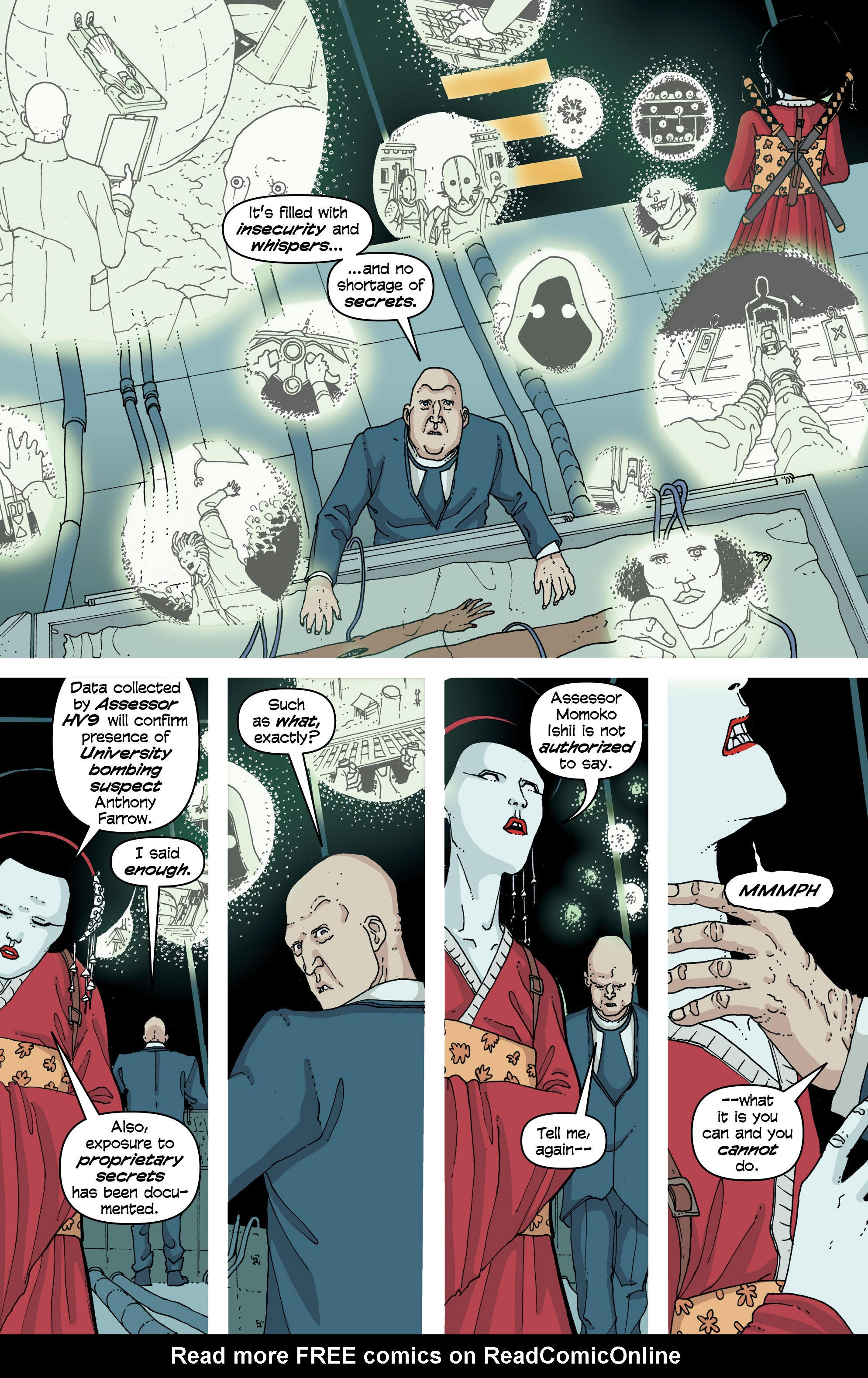 Read online Snowfall comic -  Issue #6 - 11