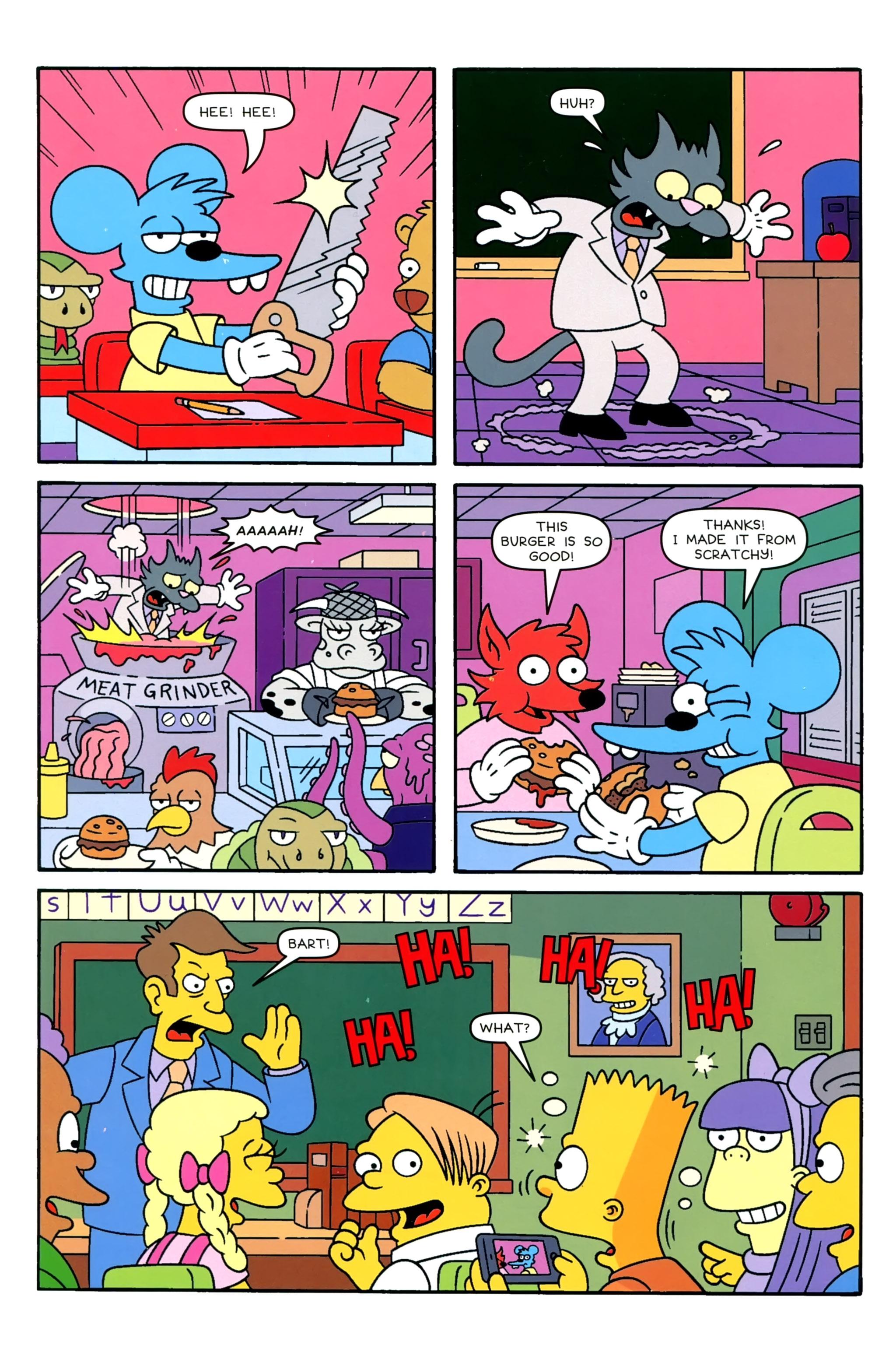 Read online Simpsons Comics comic -  Issue #229 - 4