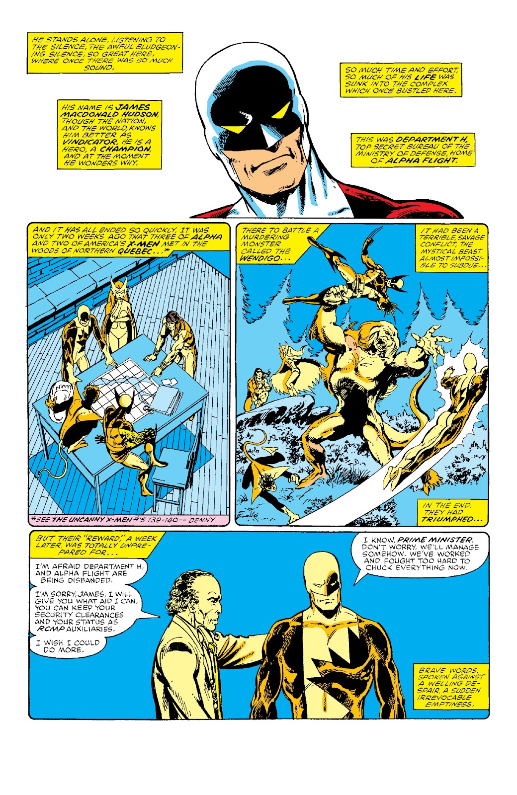 Alpha Flight (1983) issue _Facsimile_Edition_1 - Page 4