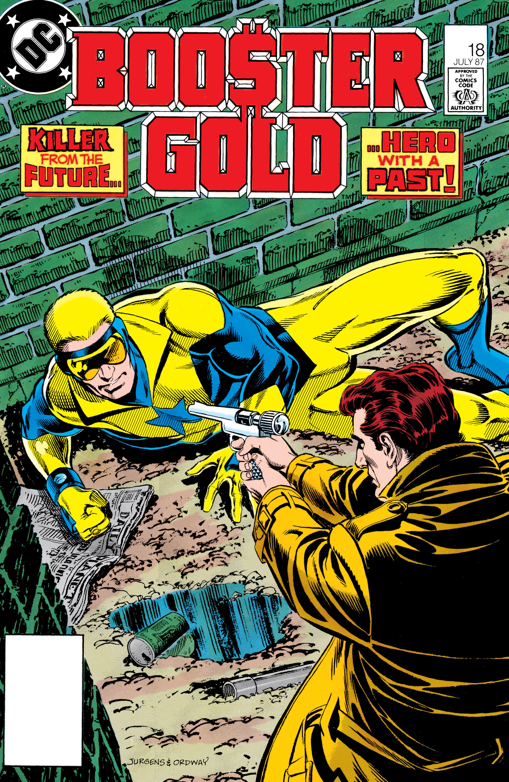 Booster Gold 1986 Issue 18