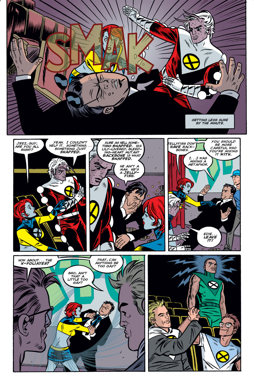 Read online X-Force (1991) comic -  Issue #125 - 12