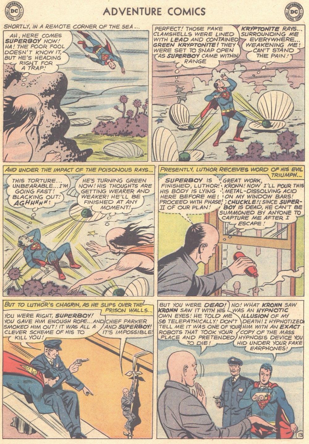 Read online Adventure Comics (1938) comic -  Issue #308 - 14