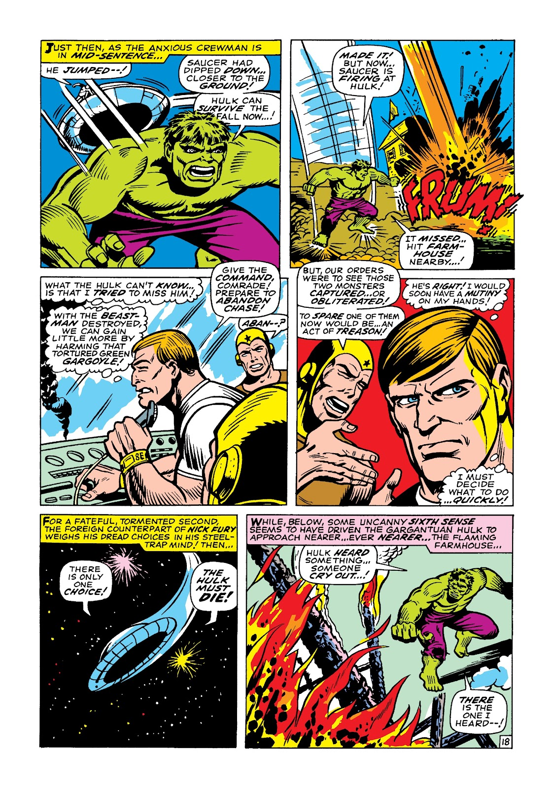Read online Marvel Masterworks: The Incredible Hulk comic -  Issue # TPB 4 (Part 1) - 88