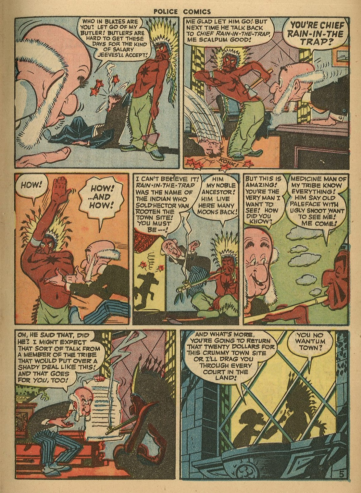 Police Comics issue 45 - Page 7