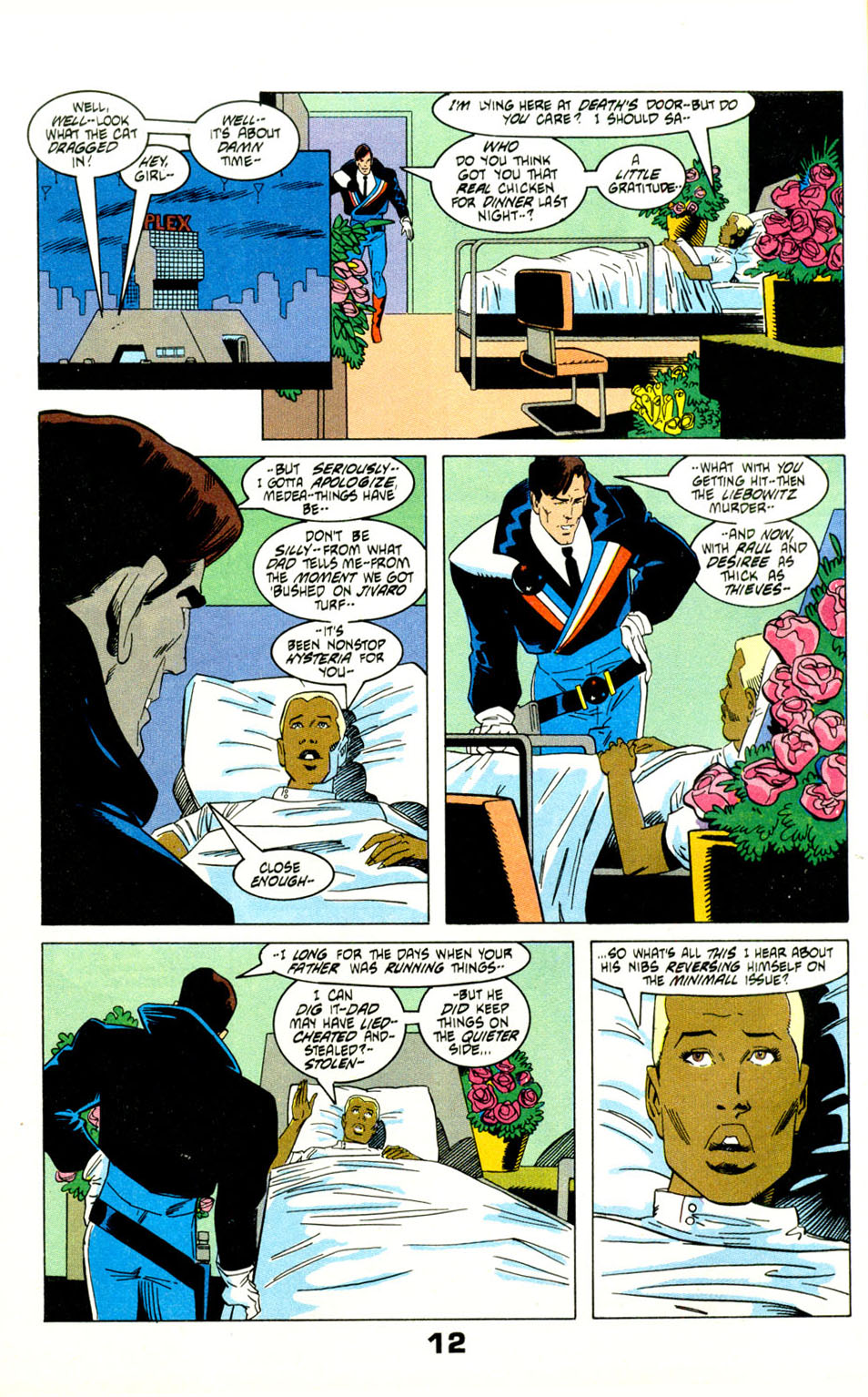 Read online American Flagg! comic -  Issue #29 - 15
