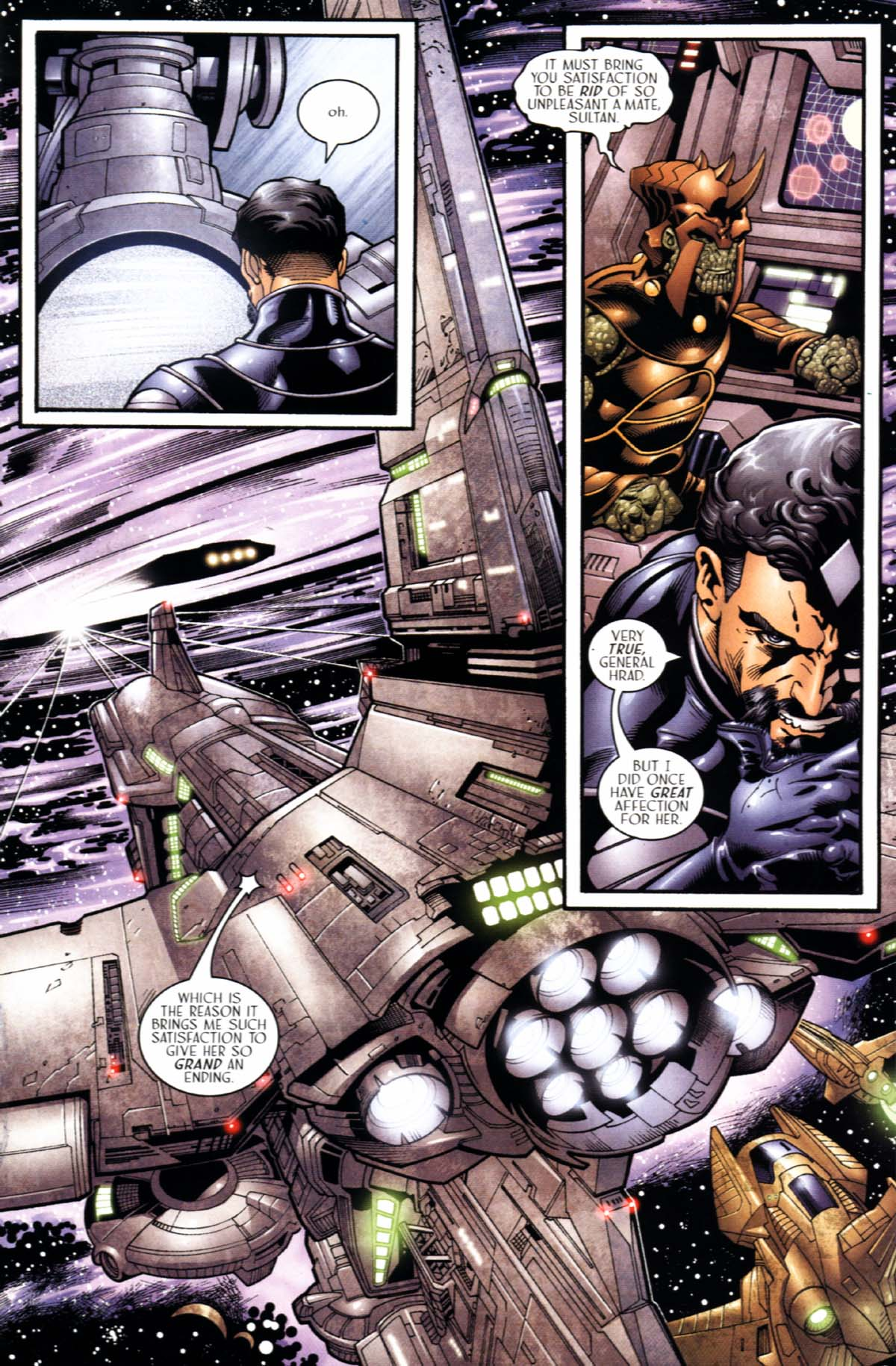 Read online Sigil (2000) comic -  Issue #22 - 21