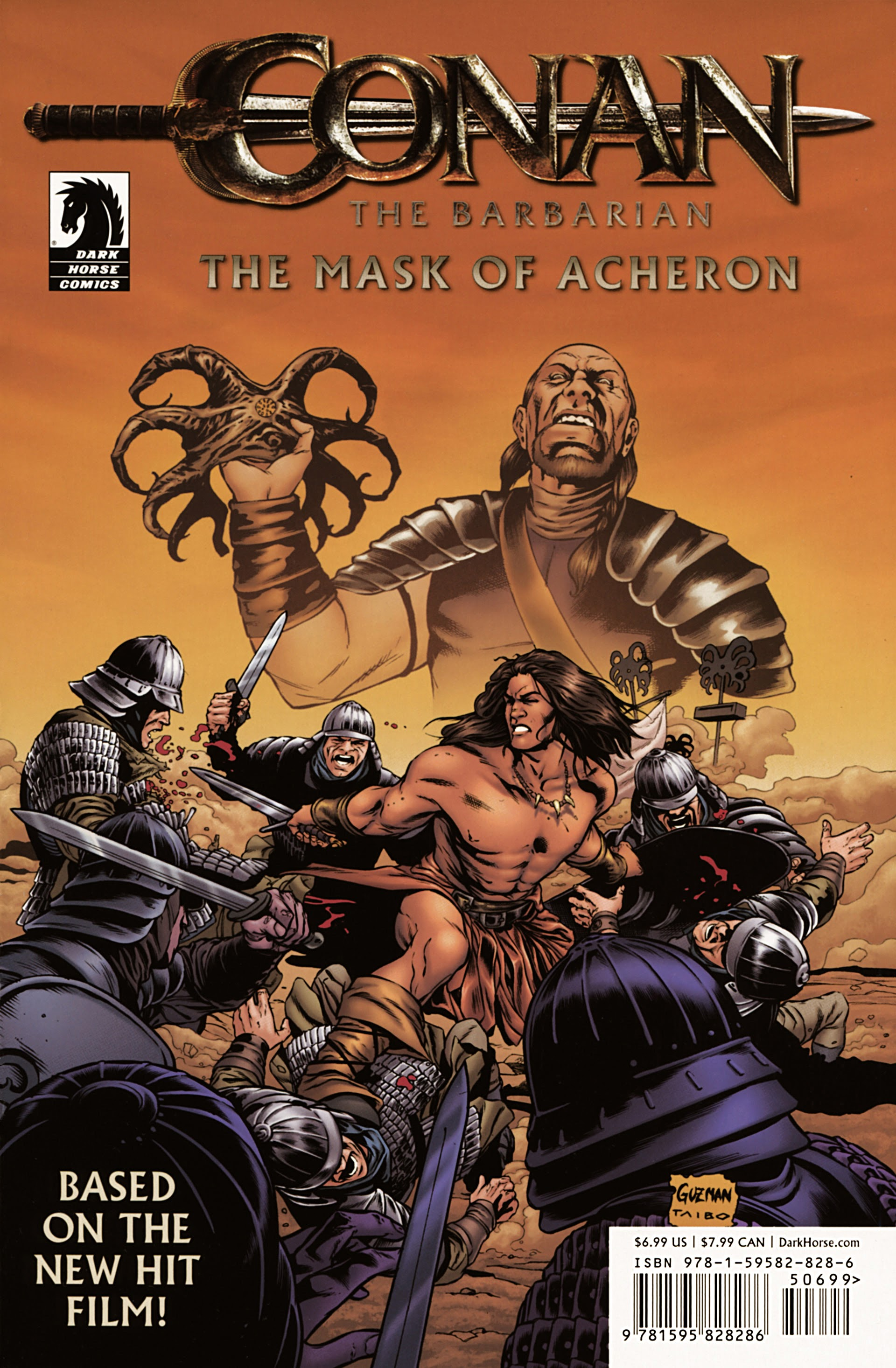 Conan the Barbarian: The Mask of Acheron Full Page 1