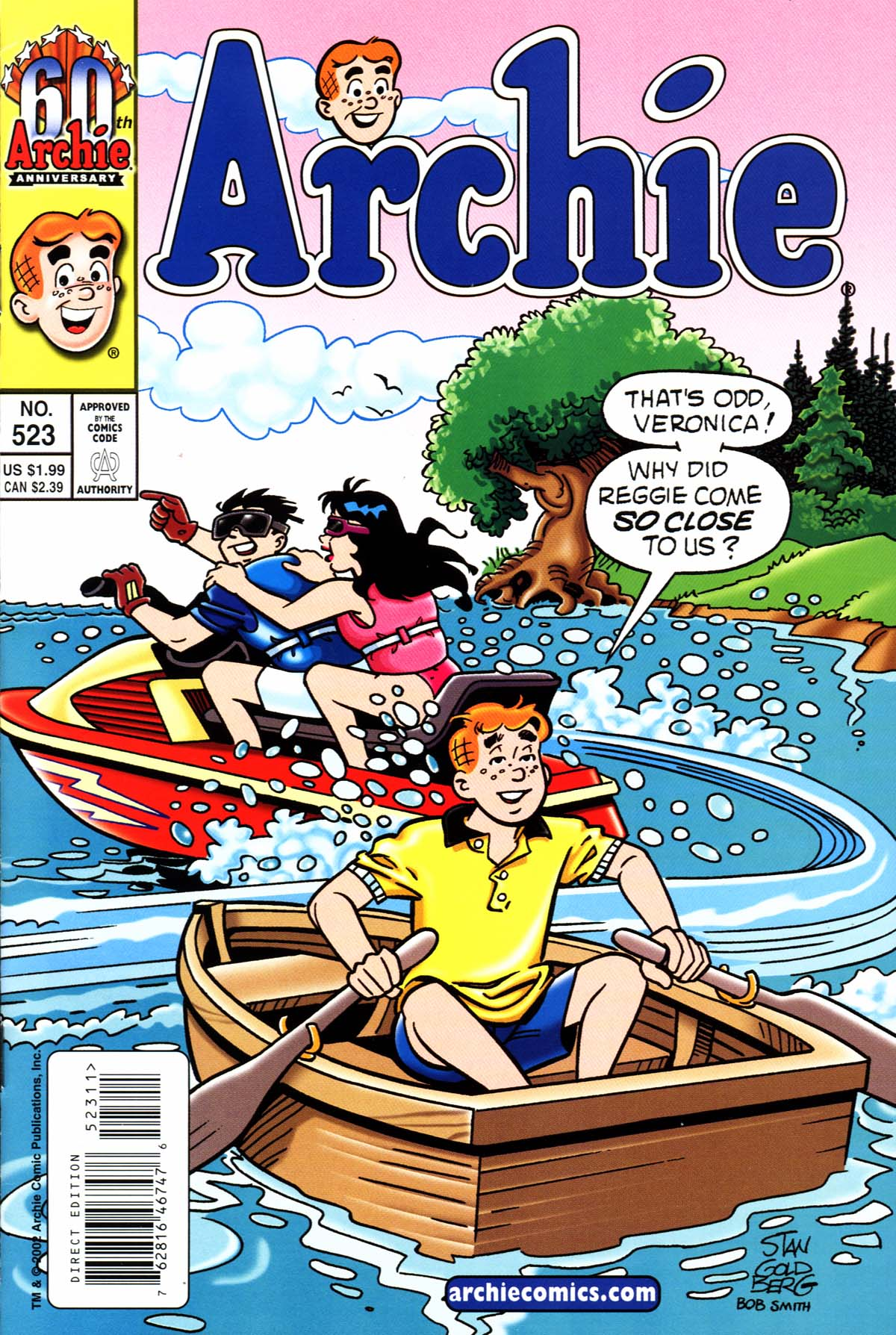 Read online Archie (1960) comic -  Issue #523 - 1