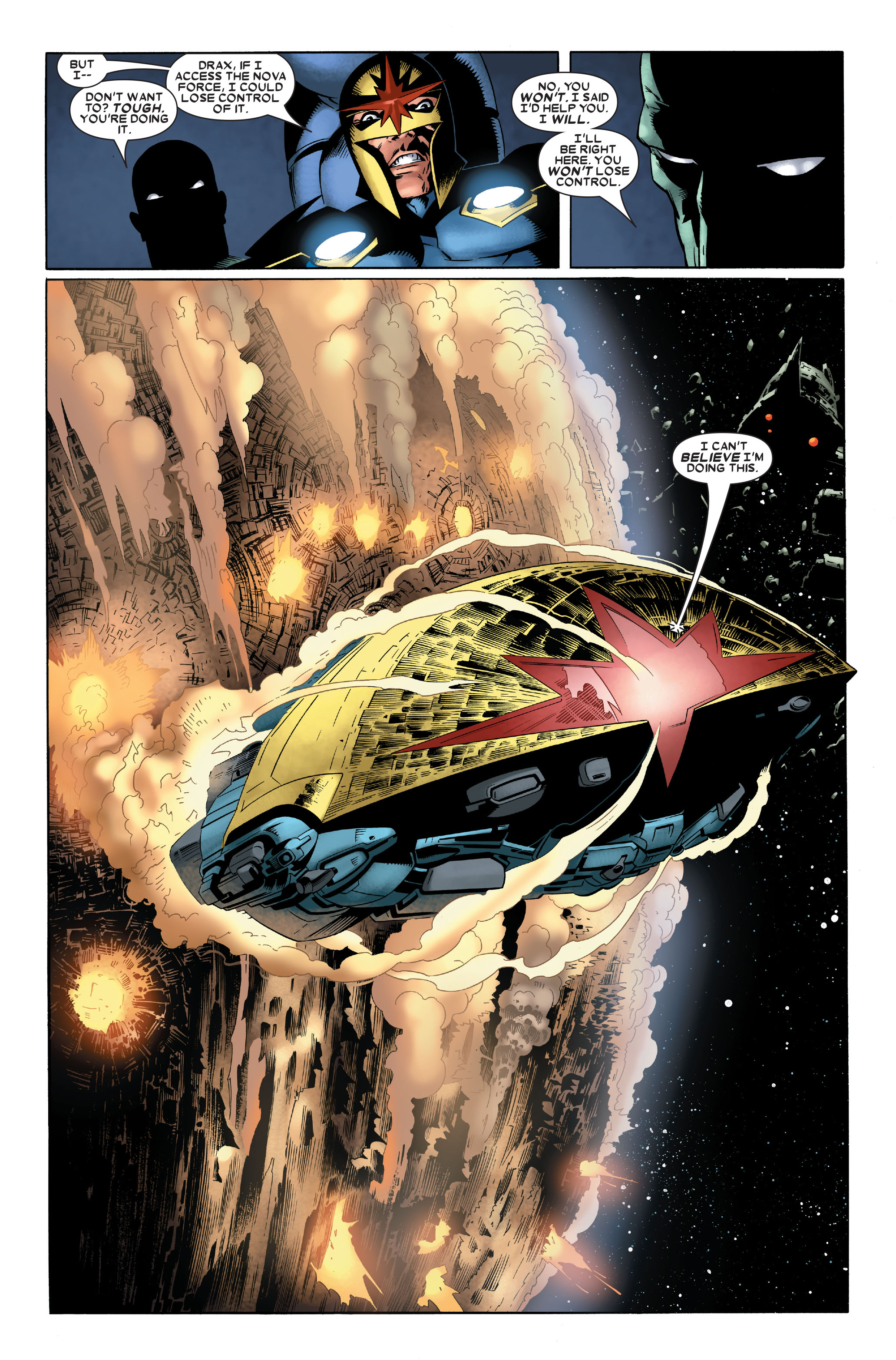 Read online Annihilation: Nova comic -  Issue #2 - 17