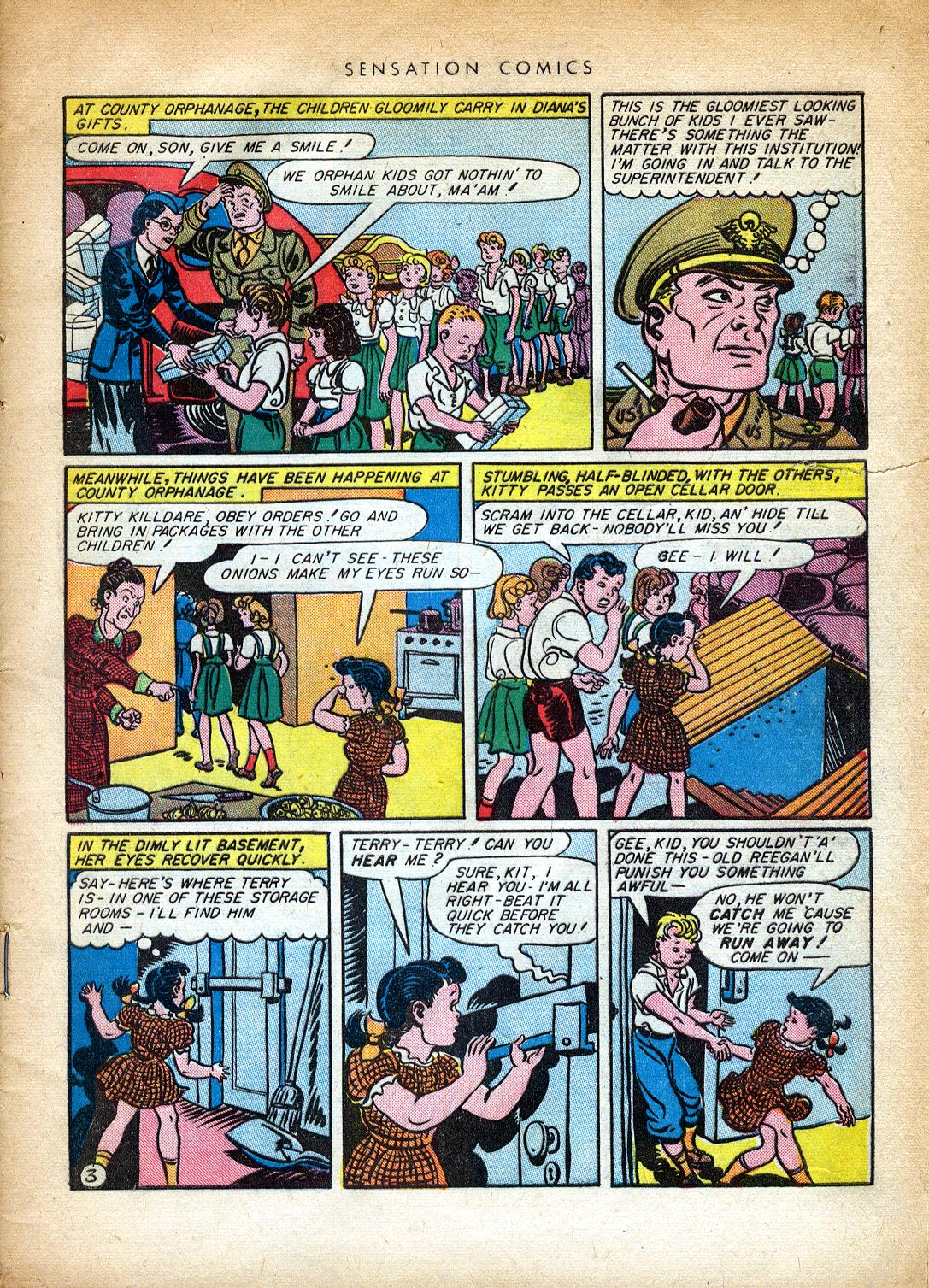 Read online Sensation (Mystery) Comics comic -  Issue #37 - 5