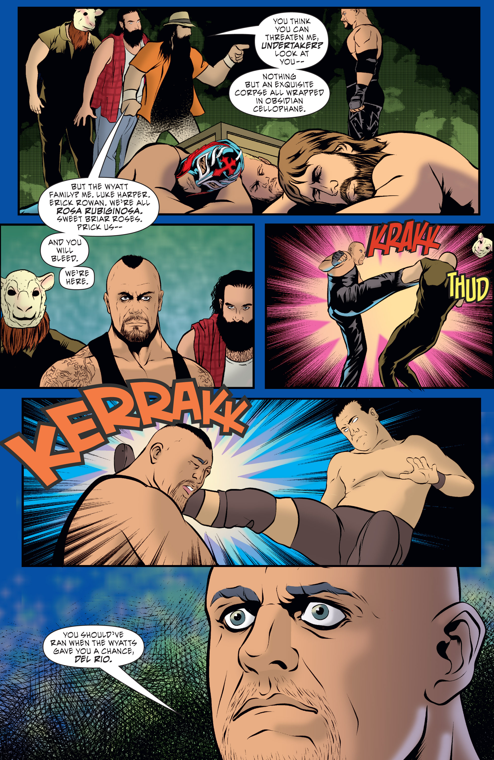 Read online WWE Superstars comic -  Issue #7 - 4