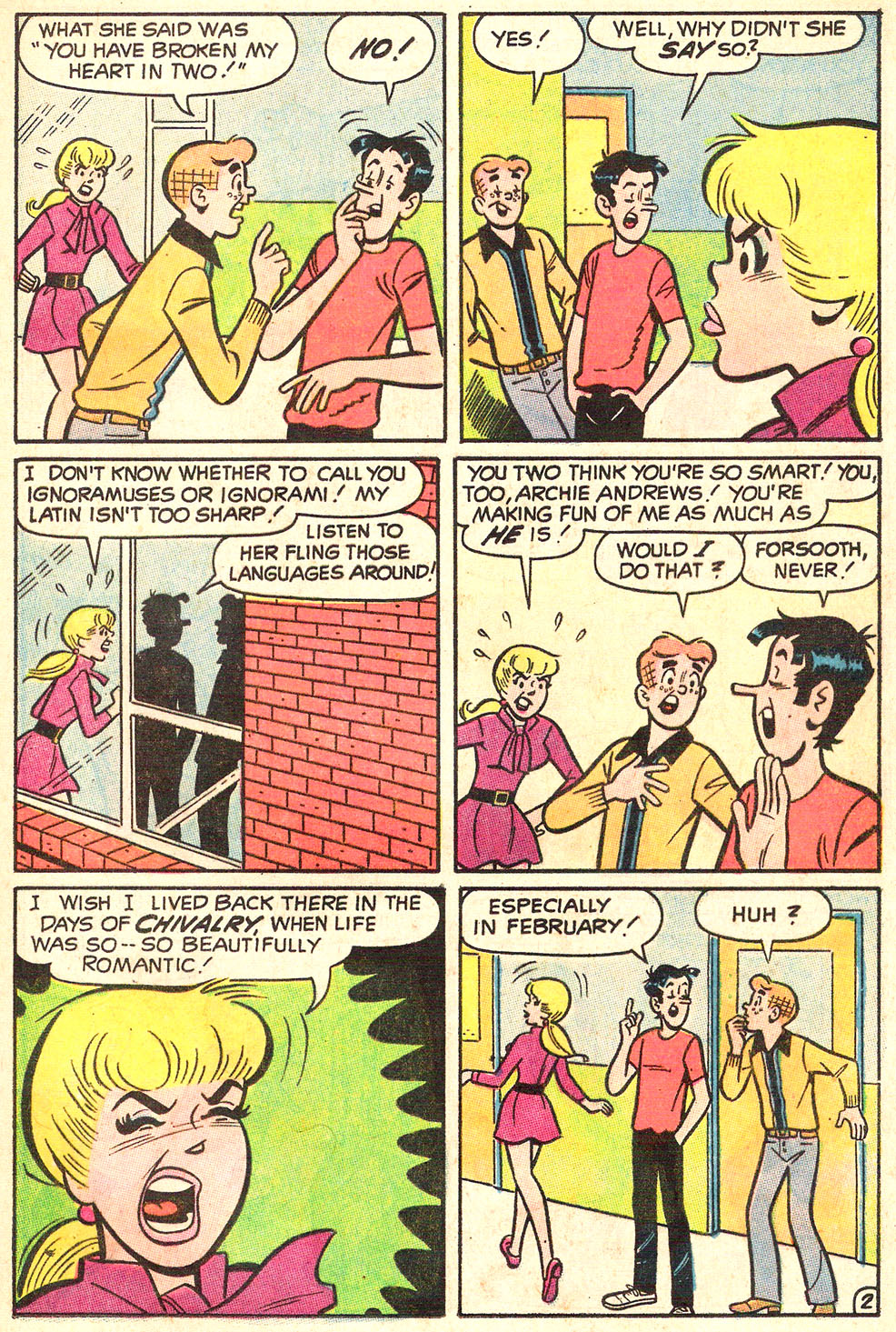 Read online Archie's Girls Betty and Veronica comic -  Issue #186 - 21