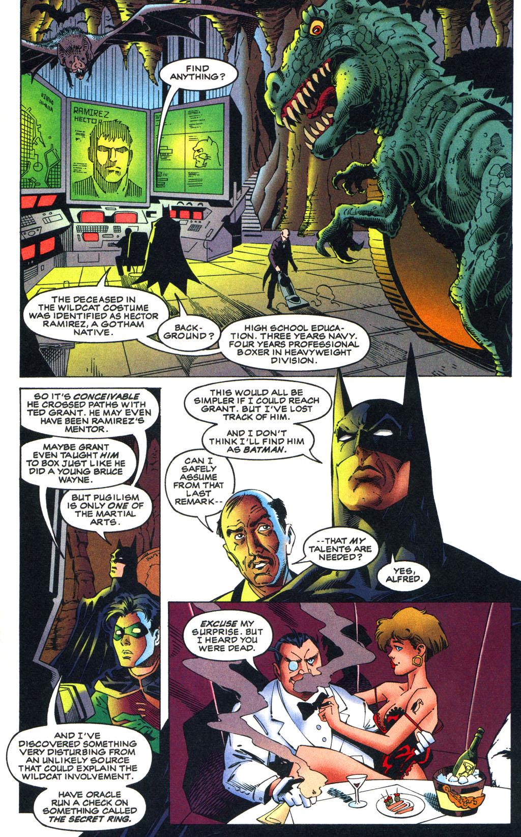 Read online Batman/Wildcat comic -  Issue #1 - 11