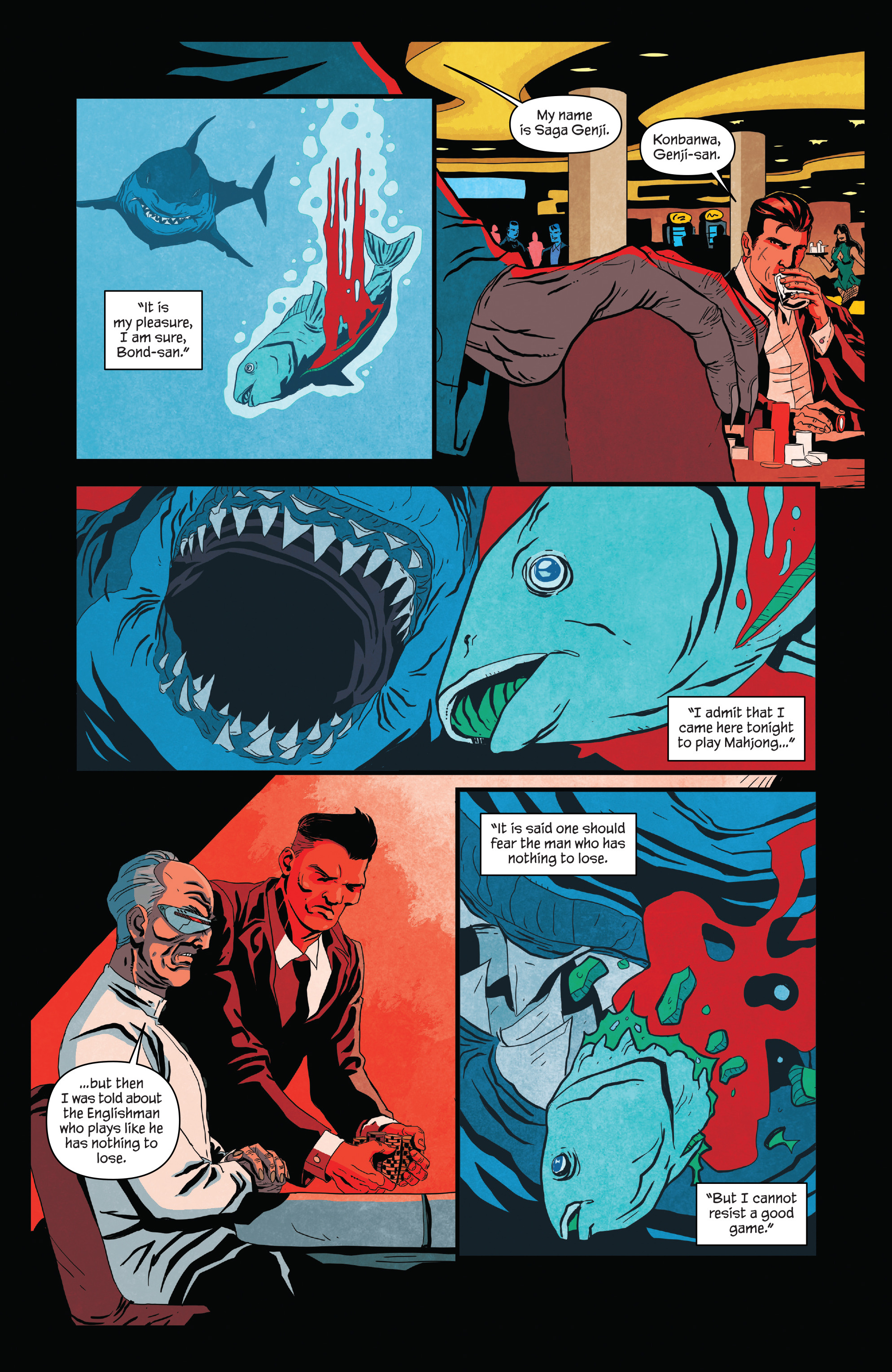 Read online James Bond (2017) comic -  Issue #2 - 9