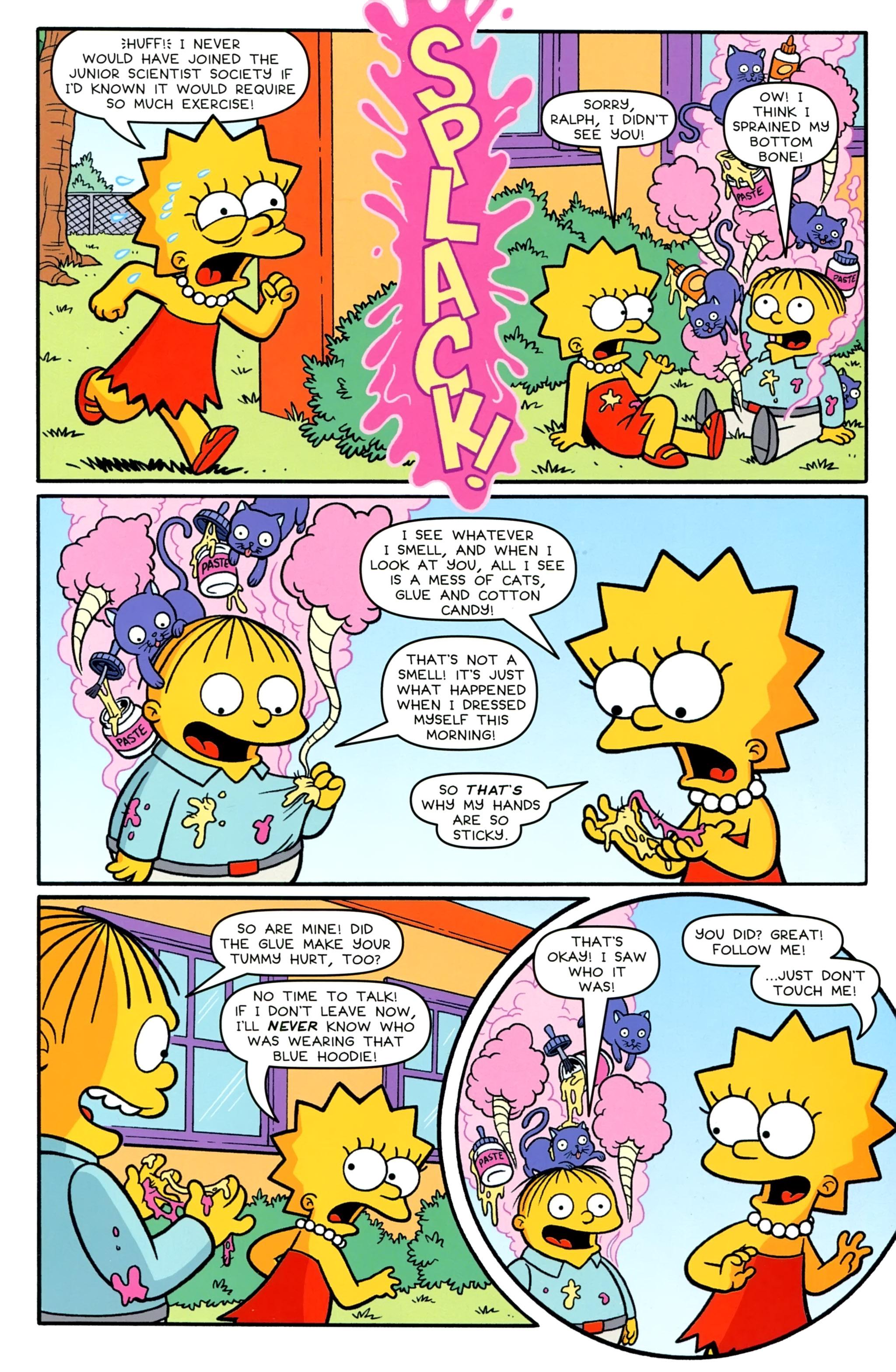 Read online Simpsons Comics comic -  Issue #231 - 23