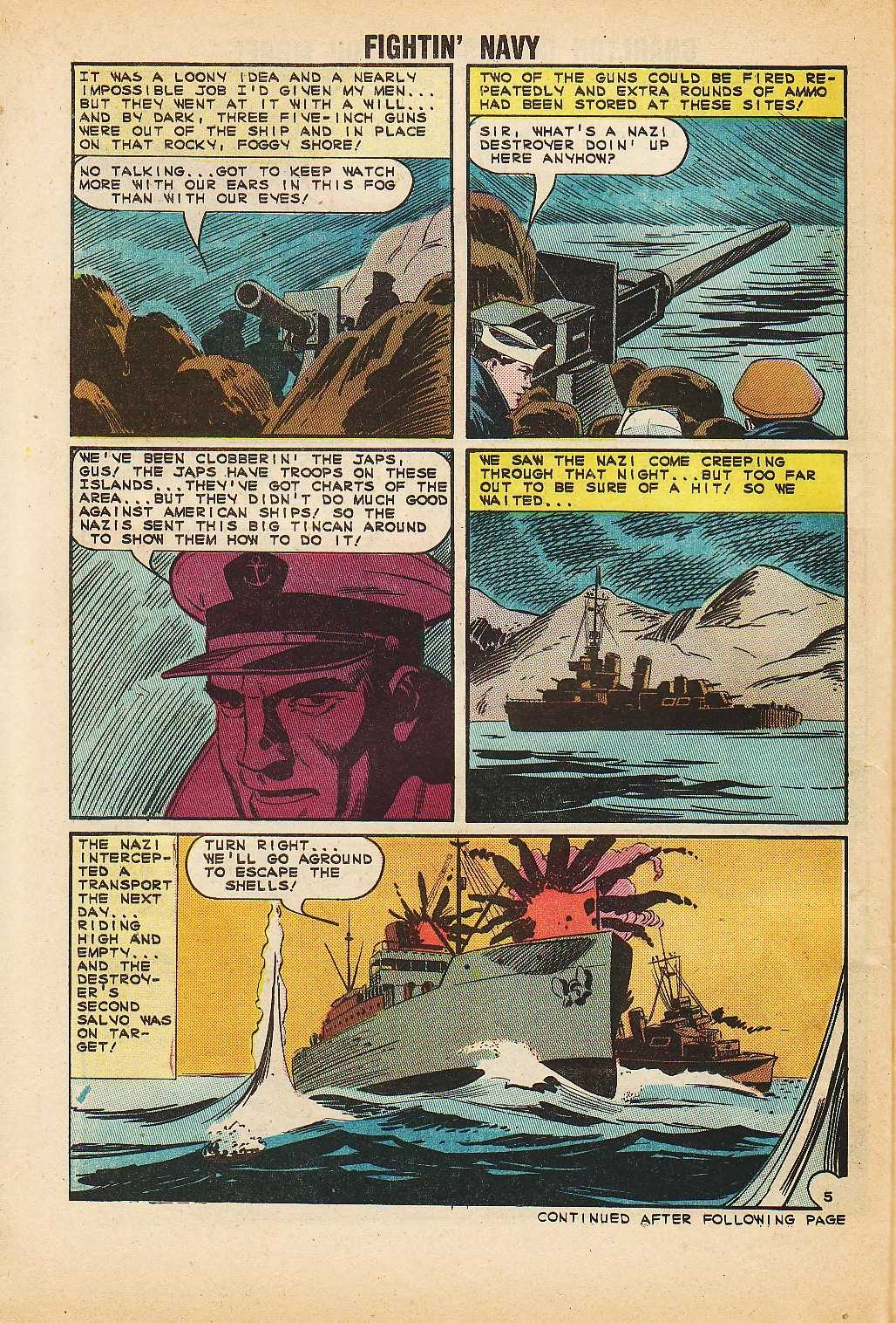 Read online Fightin' Navy comic -  Issue #116 - 30