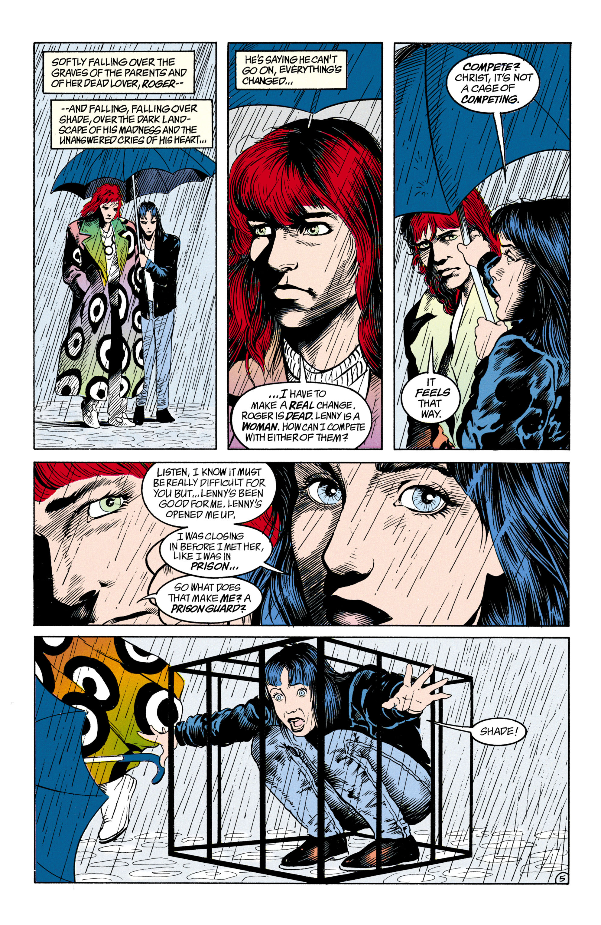 Read online Shade, the Changing Man comic -  Issue #31 - 6