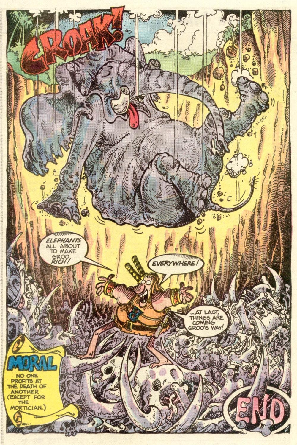 Read online Sergio Aragonés Groo the Wanderer comic -  Issue #7 - 17