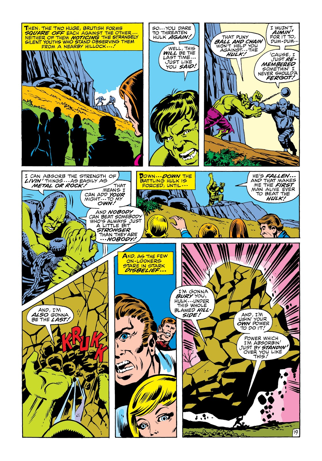 Read online Marvel Masterworks: The Incredible Hulk comic -  Issue # TPB 6 (Part 1) - 91