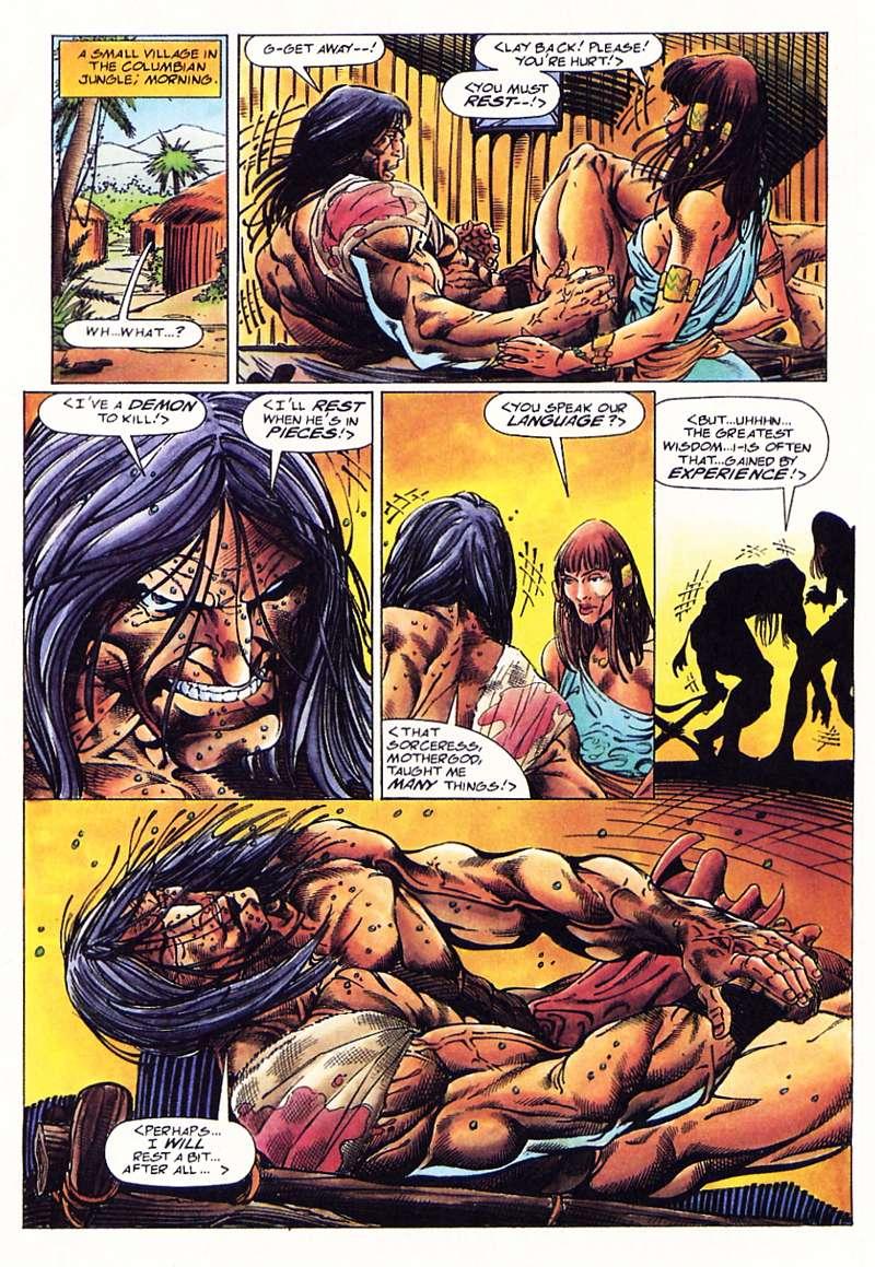 Read online Turok, Dinosaur Hunter (1993) comic -  Issue #1 - 14
