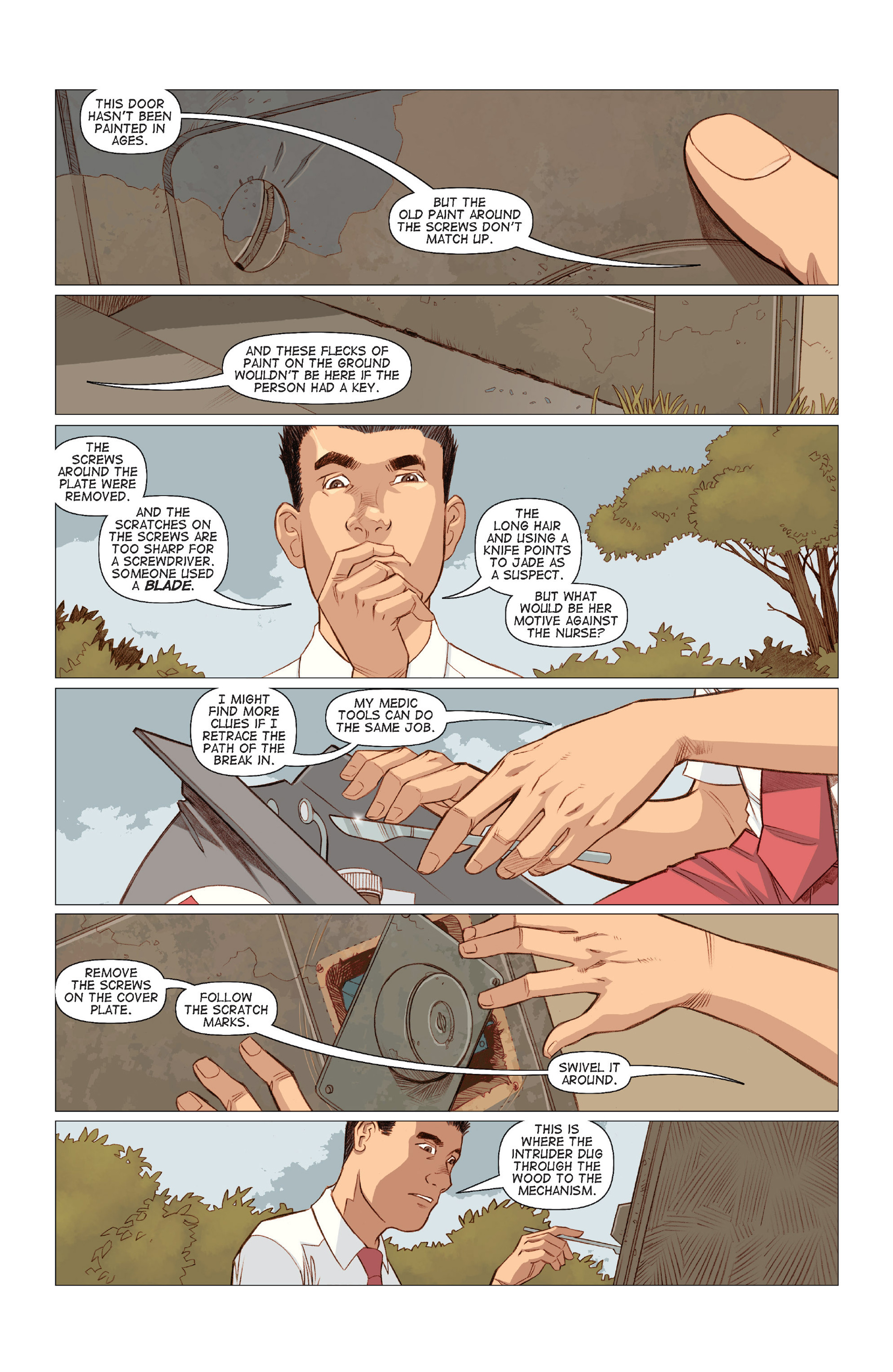Read online Five Weapons comic -  Issue #8 - 13
