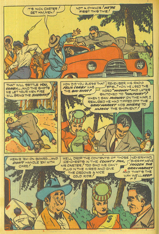 Read online Shadow Comics comic -  Issue #87 - 31