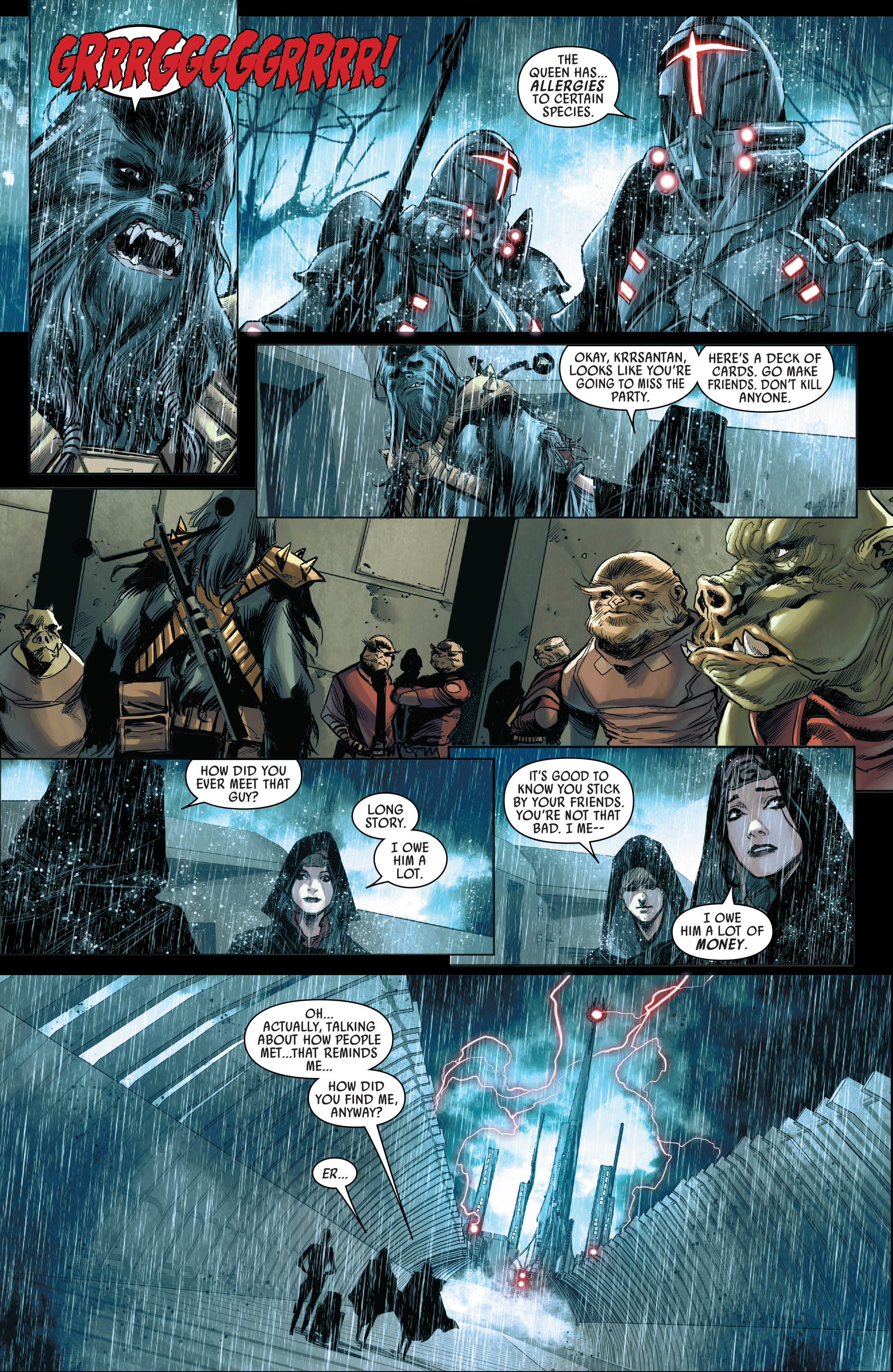 Read online Star Wars: The Screaming Citadel comic -  Issue # Full - 18